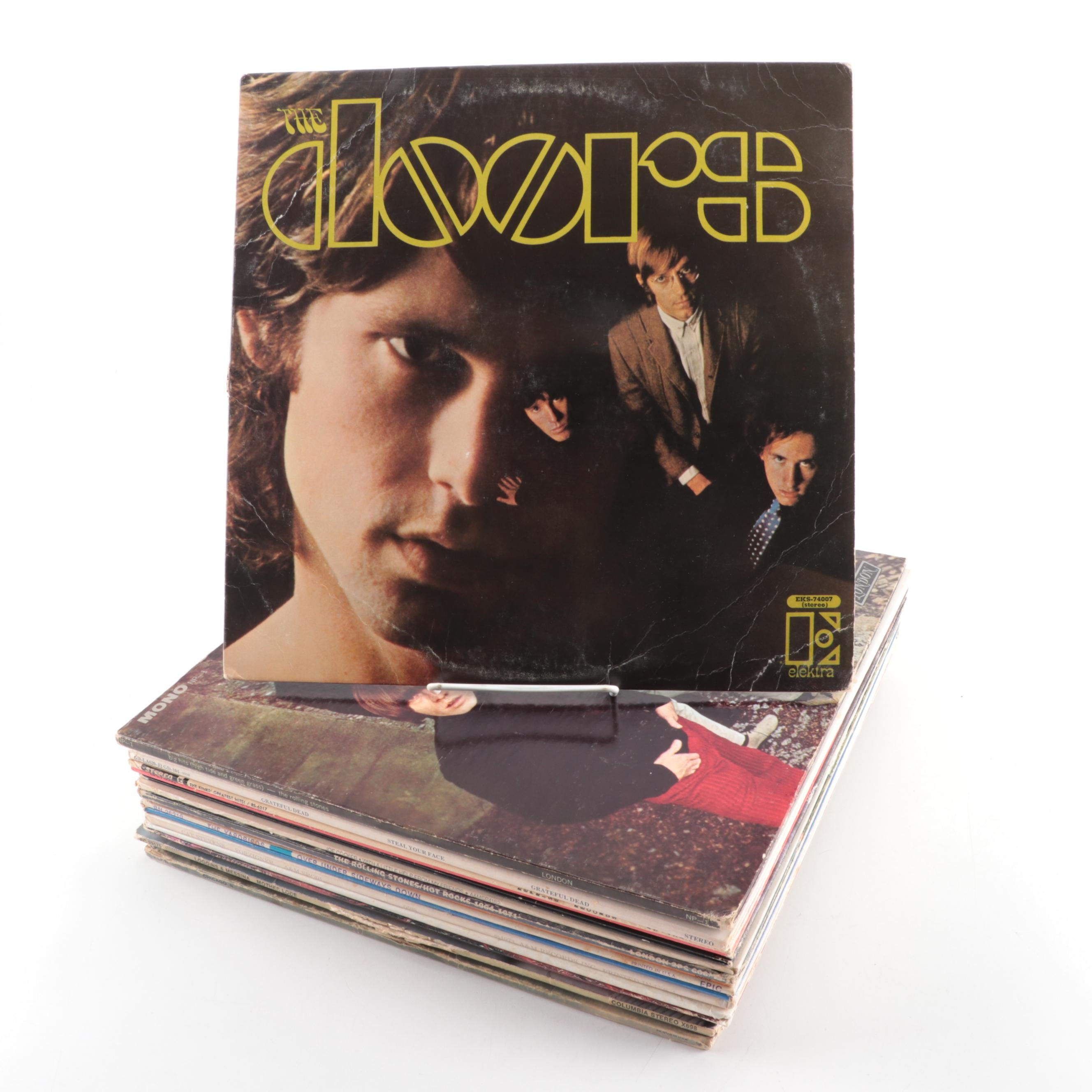 The Doors, Grateful Dead, The Rolling Stones, The Kinks and Other Rock Records