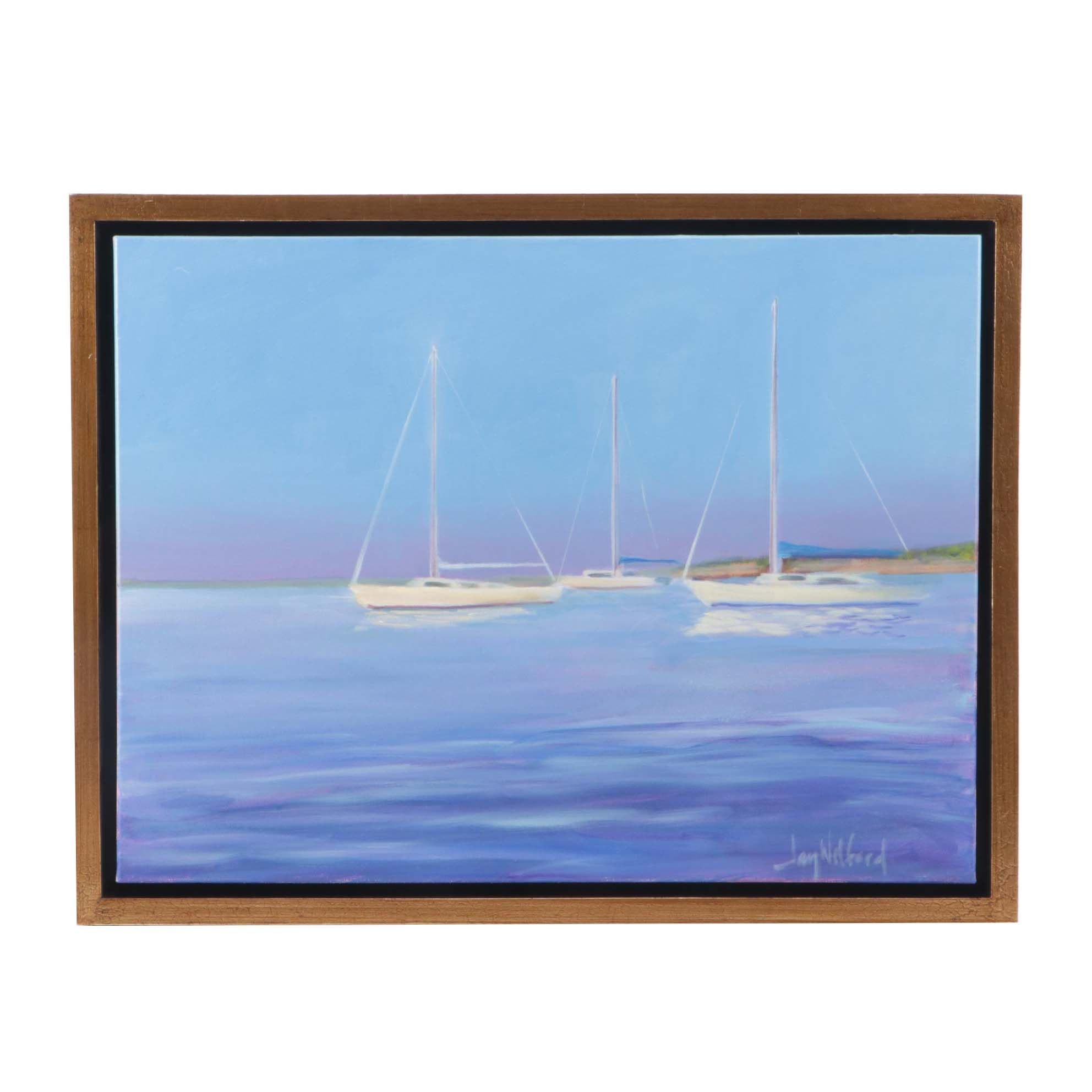 Jay Wilford Contemporary Nautical Oil Painting