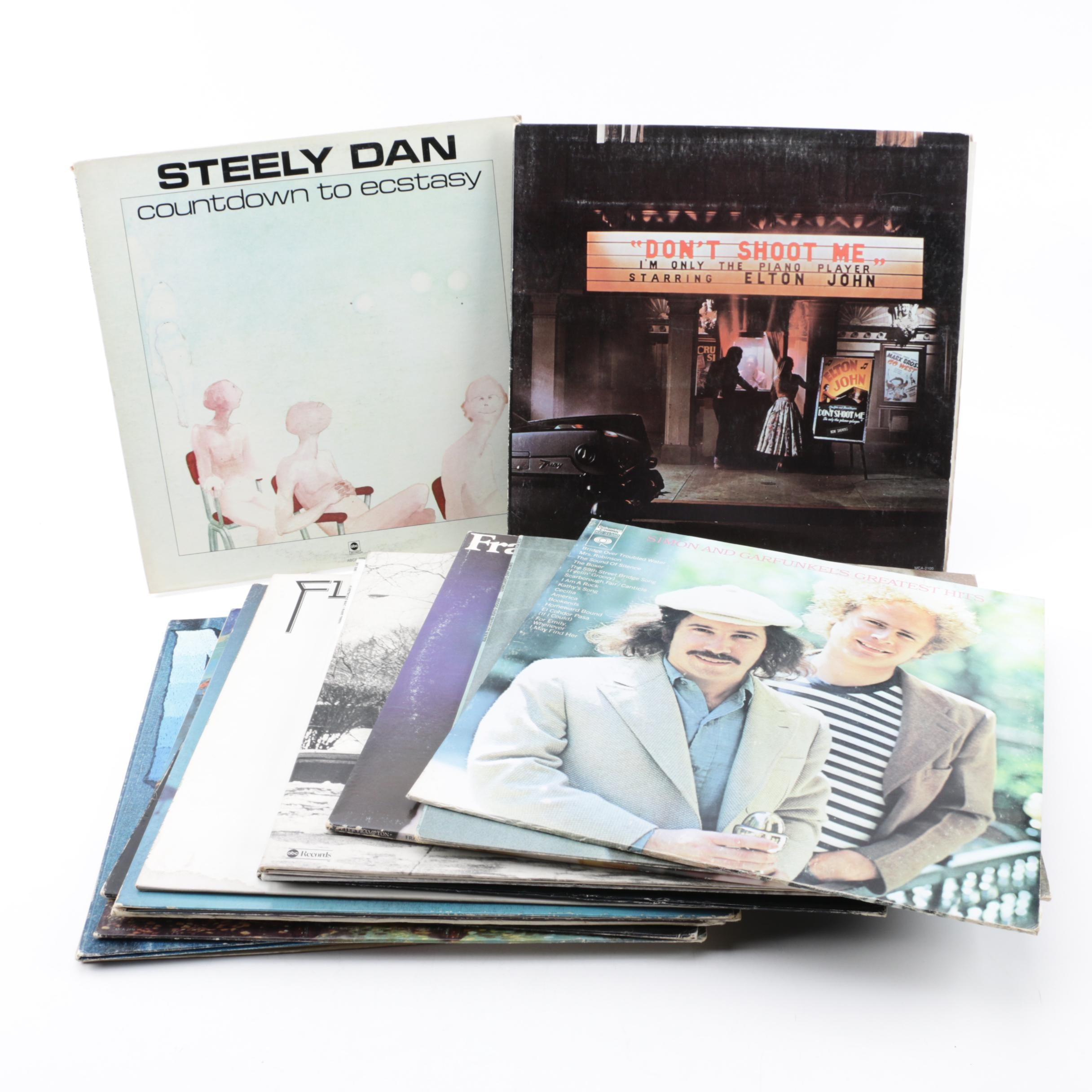 Fleetwood Mac, Elton John, Steely Dan, and Other Rock and Folk Records
