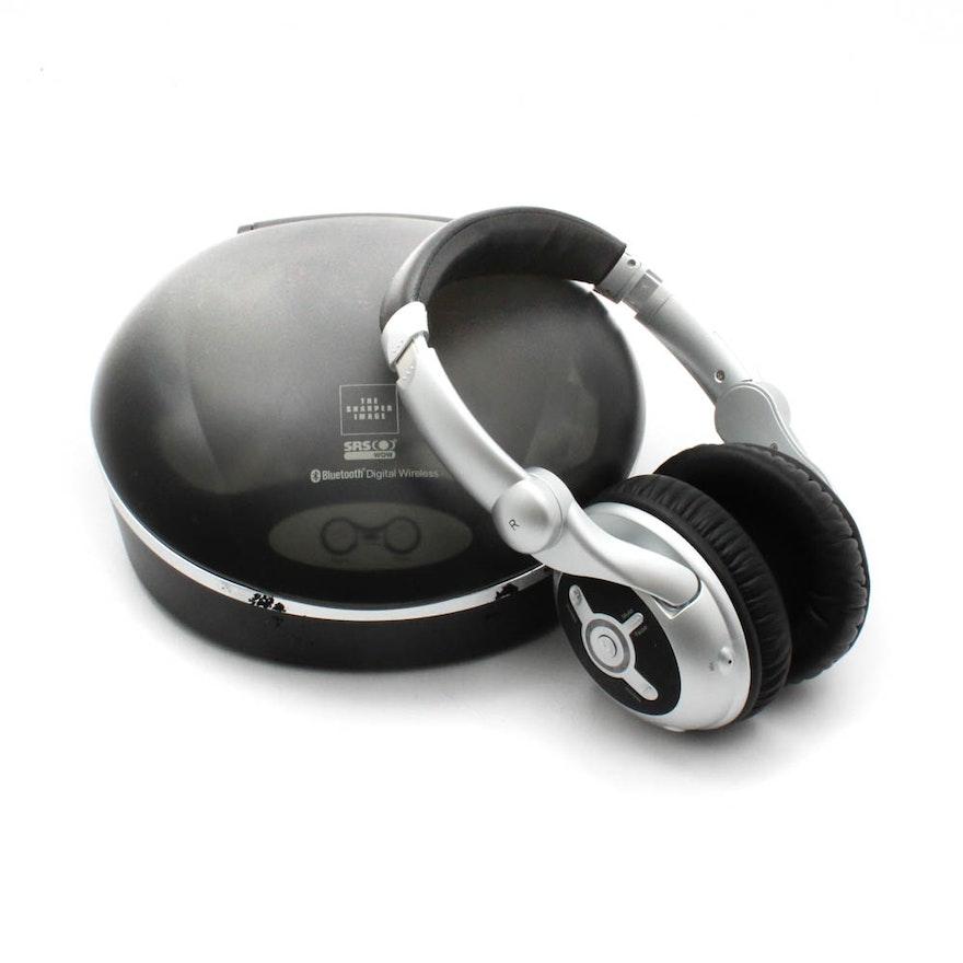 The Sharper Image Bluetooth Wireless Headphones Ebth