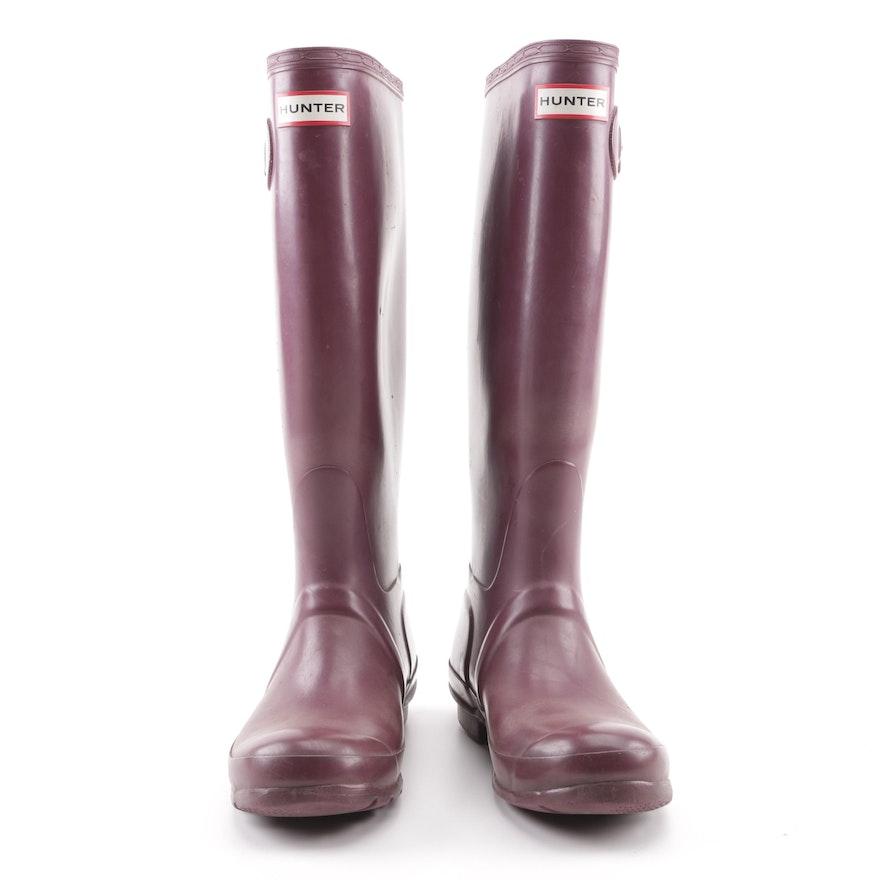 8183aff15a6 Women s Hunter Original Tall Plum Rain Boots