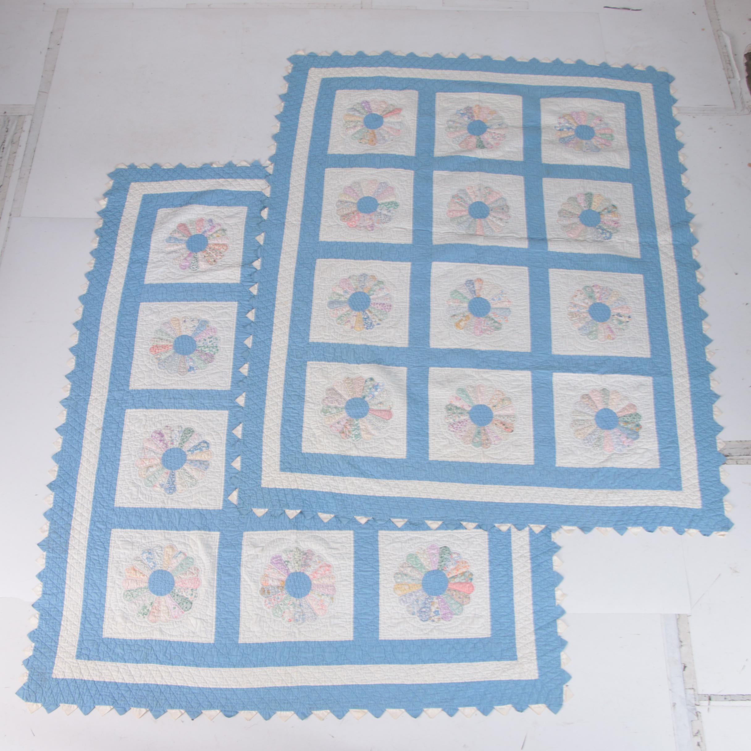 """Handmade """"Dresden Plate"""" Quilts"""