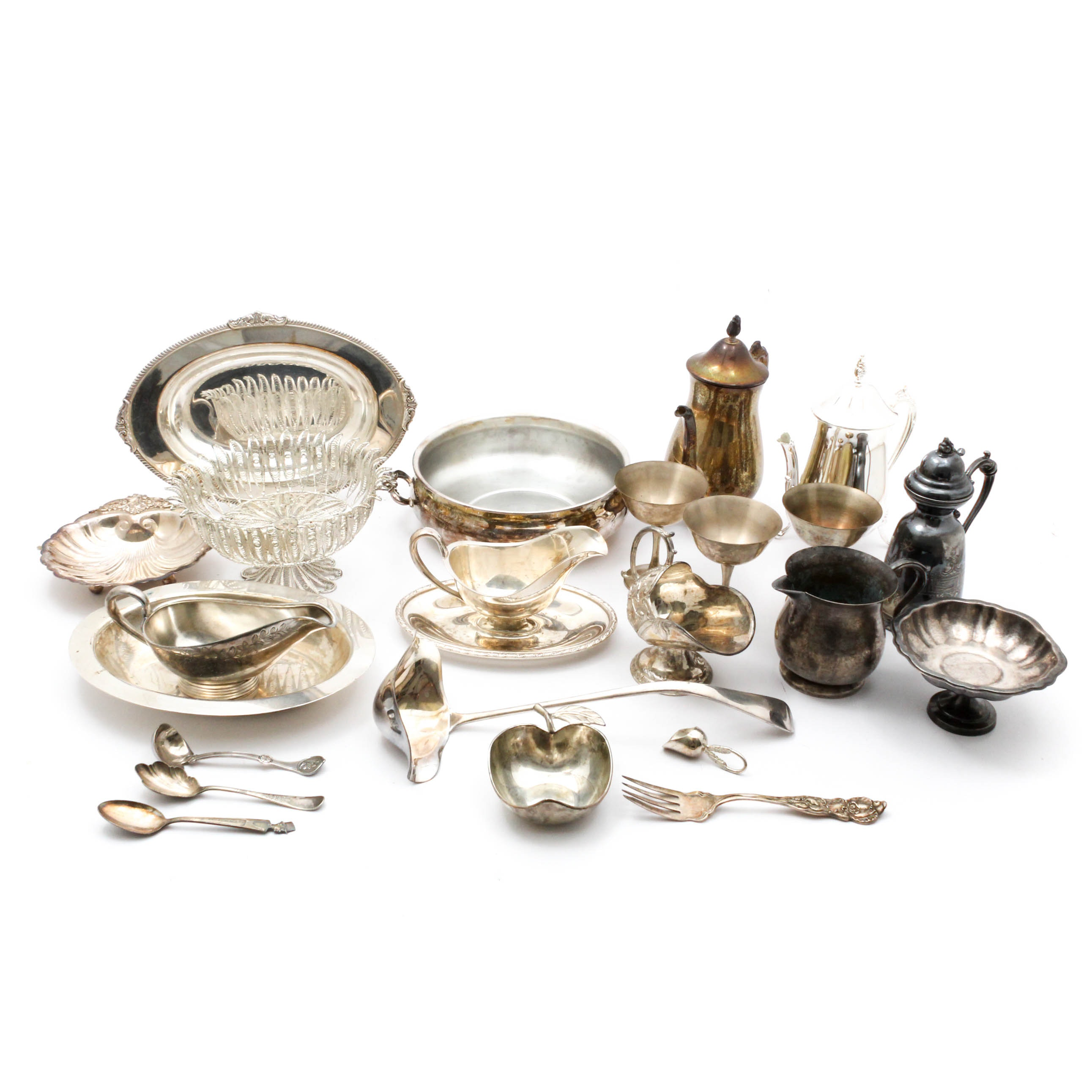 Silver Plate Serveware Featuring Reed & Barton