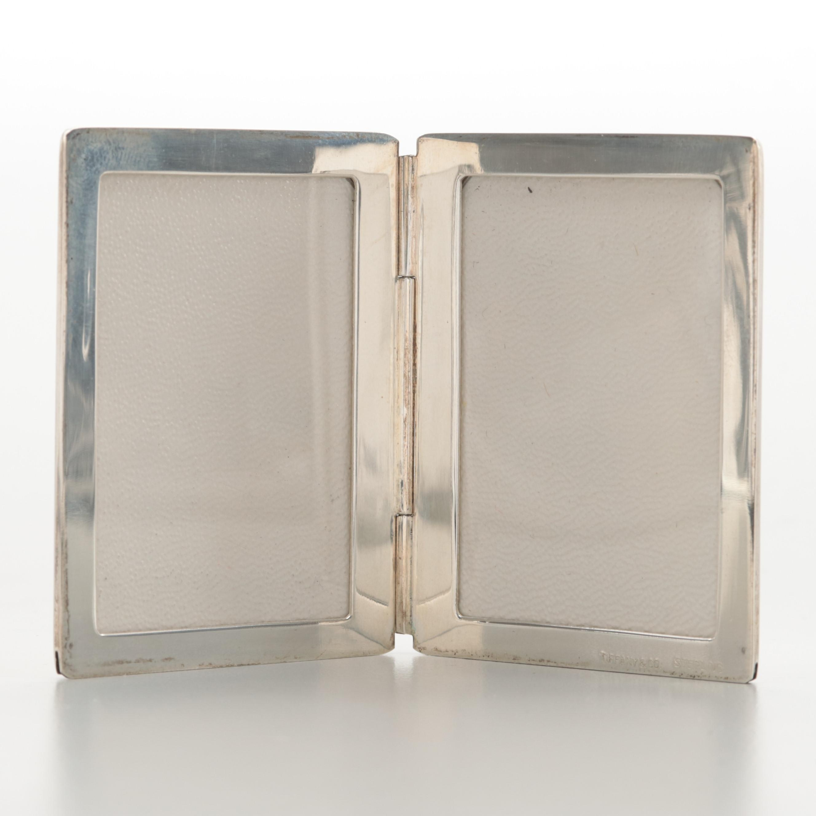 Tiffany & Co. Sterling Silver Double Folding Picture Frame