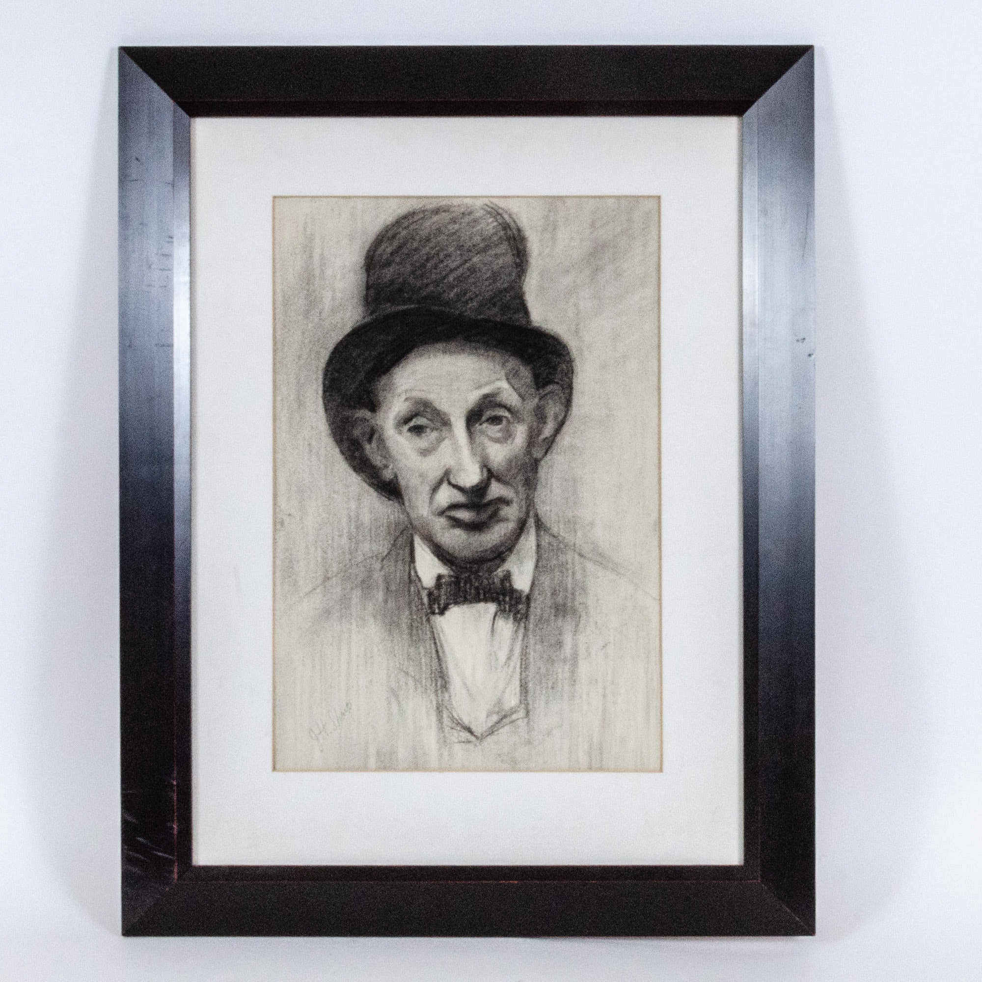 Charcoal Drawing, Portrait of Joseph Henry Sharp