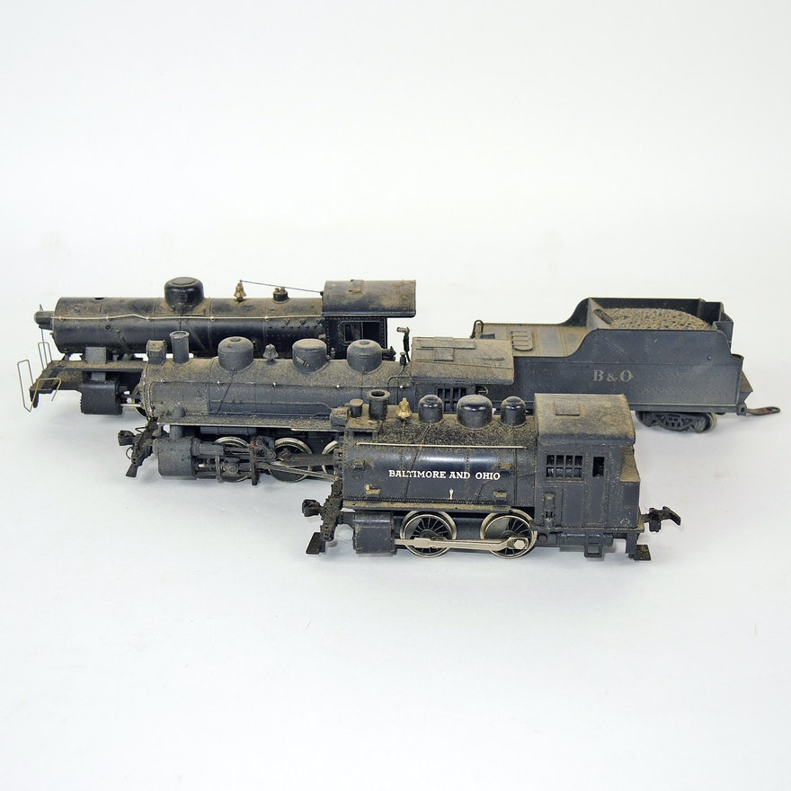 Rivarossi Locomotives and Tender