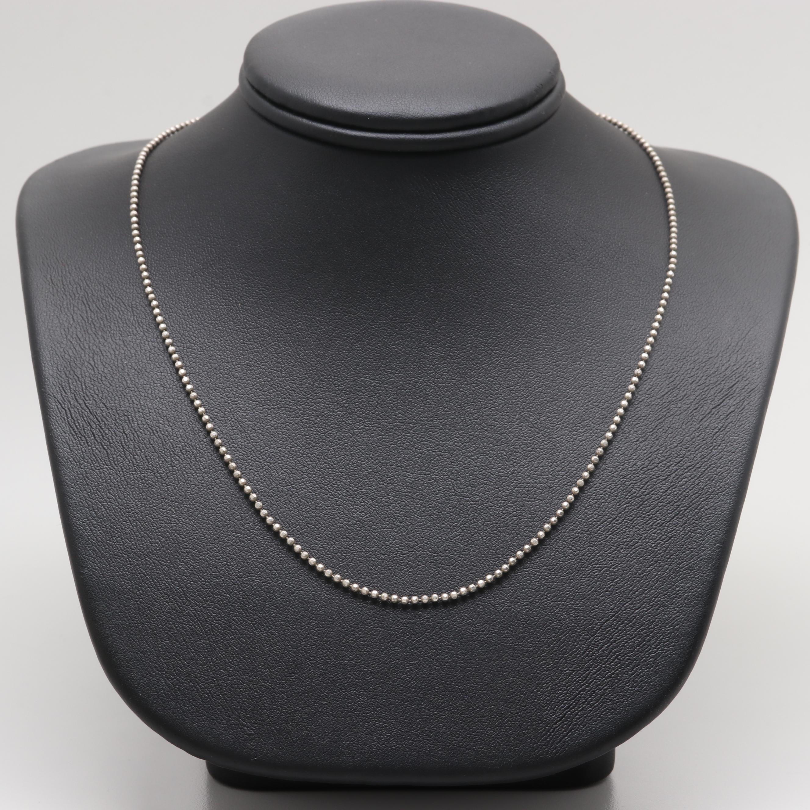 Danecraft Sterling Silver Chain Necklace