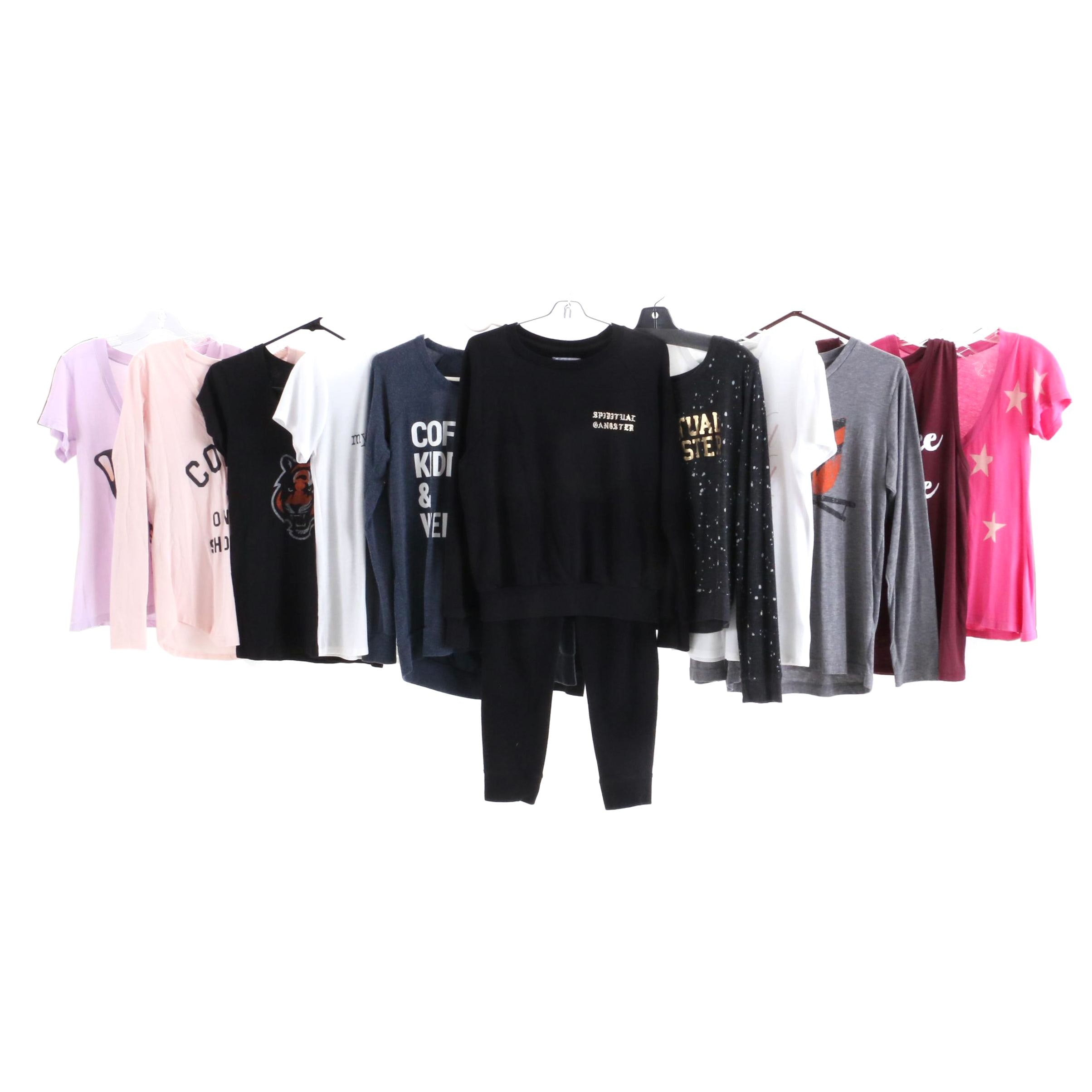 Women's T-shirts and Sweaters including Wildfox
