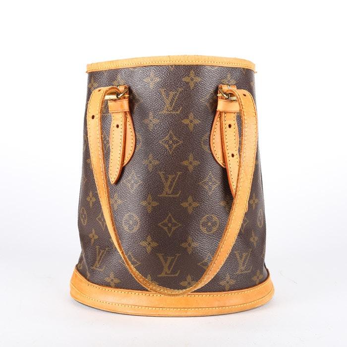2001 Louis Vuitton Paris Monogram Canvas Petite Bucket Bag