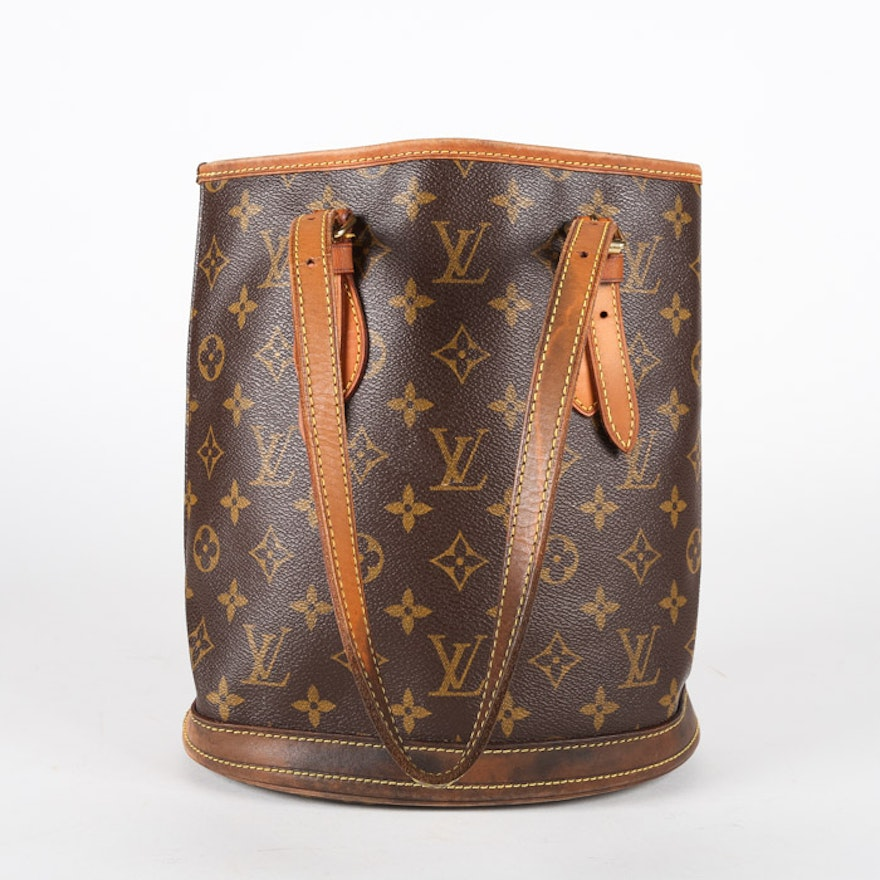 a59bbf5bcf99 2003 Louis Vuitton Monogram Canvas Small Bucket PM Handbag   EBTH