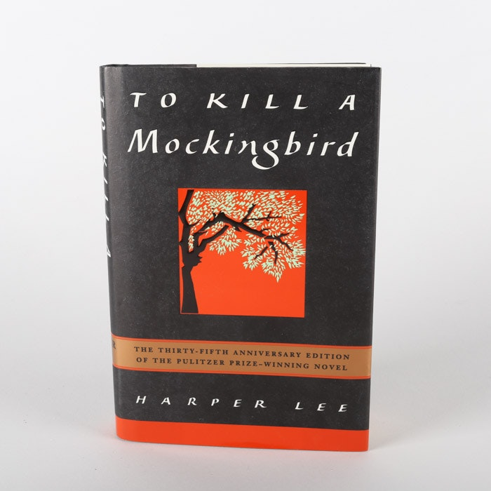 """Signed Thirty-Fifth Anniversary Edition """"To Kill A Mockingbird"""" by Harper Lee"""