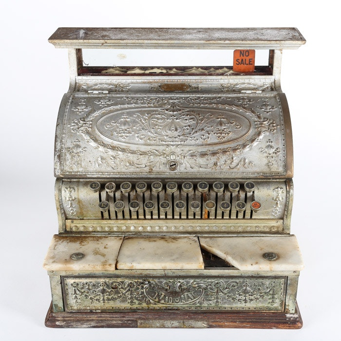 1910 National Model 332 Cash Register