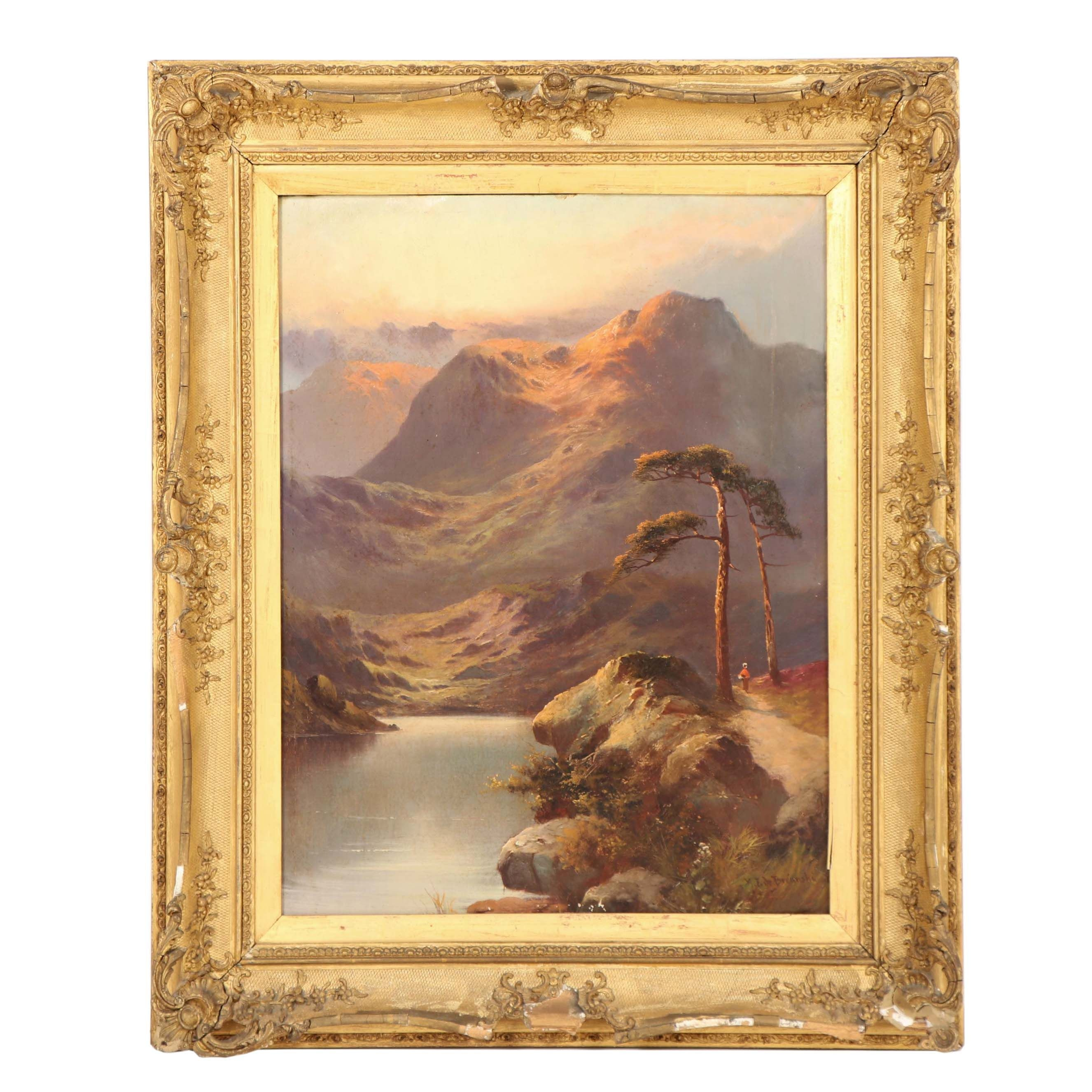 Alfred de Breanski Oil Painting