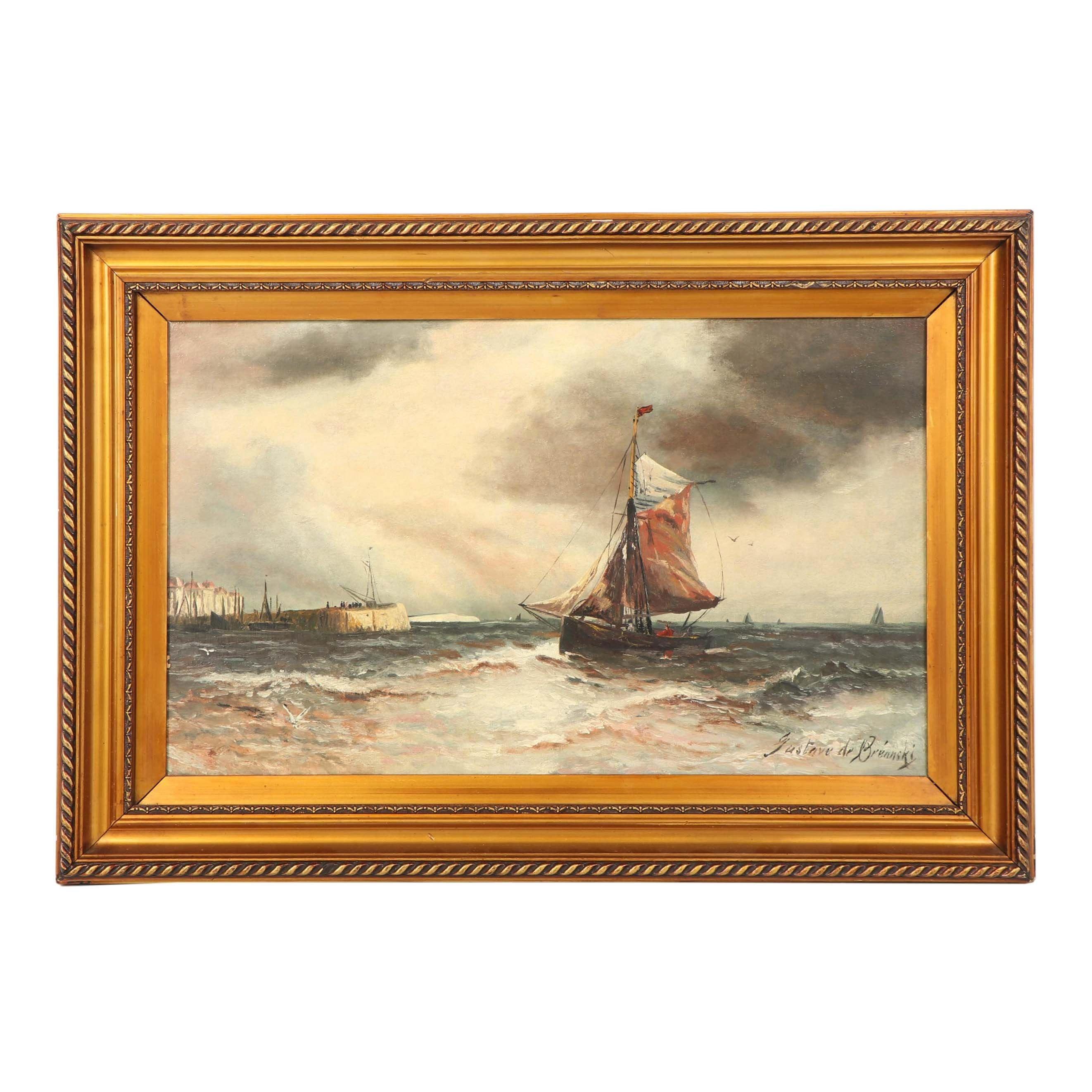 Gustave de Breanski Oil Painting