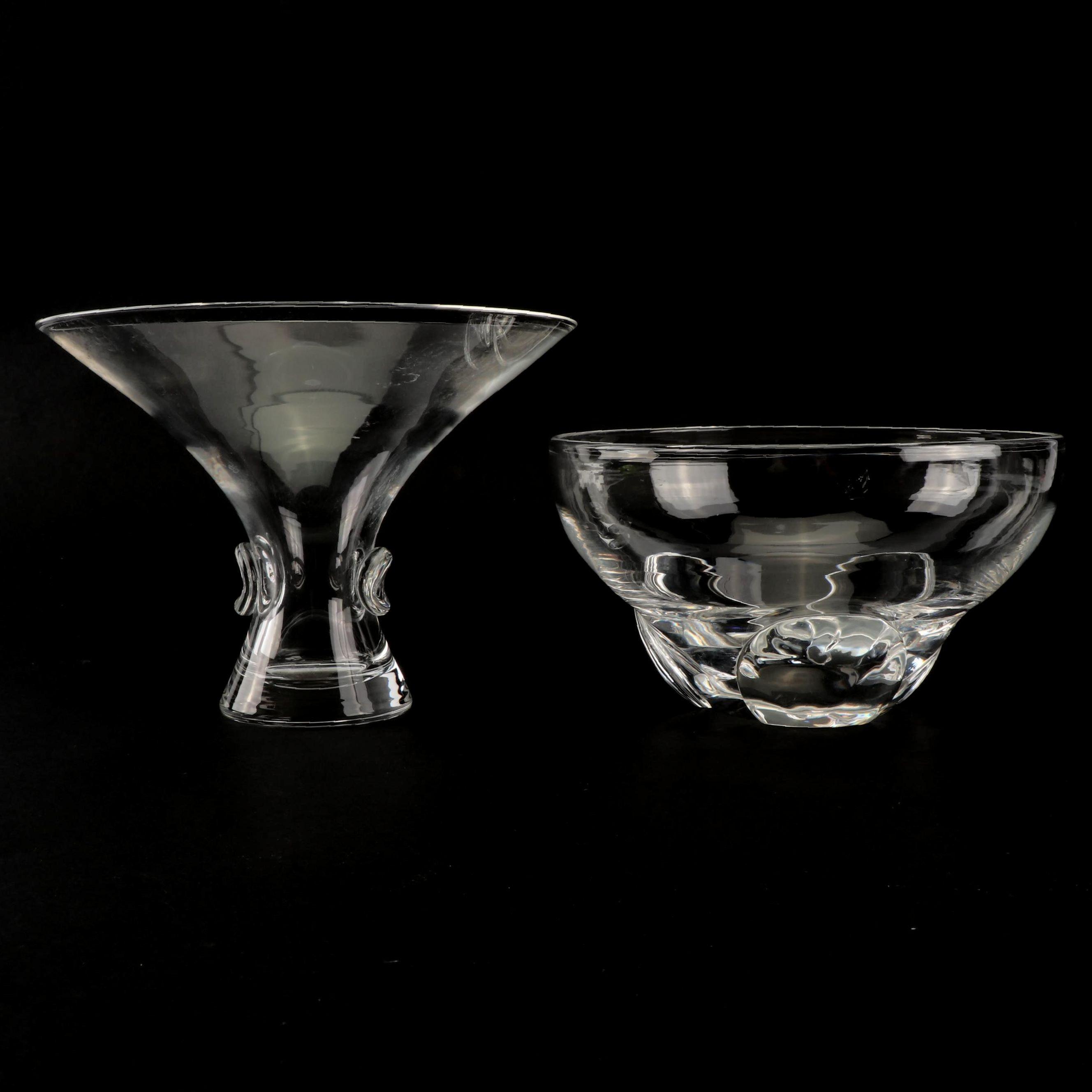 Two Steuben Glass Bowls