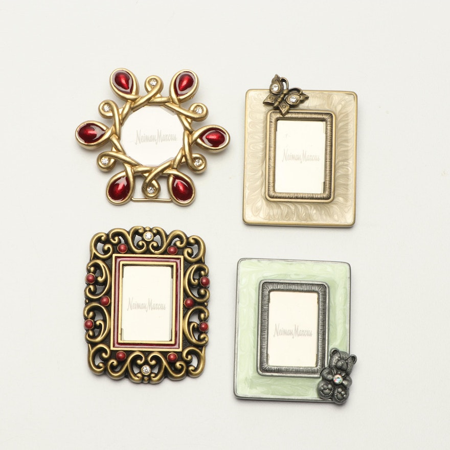 Jay Strongwater for Neiman Marcus Miniature Picture Frames : EBTH