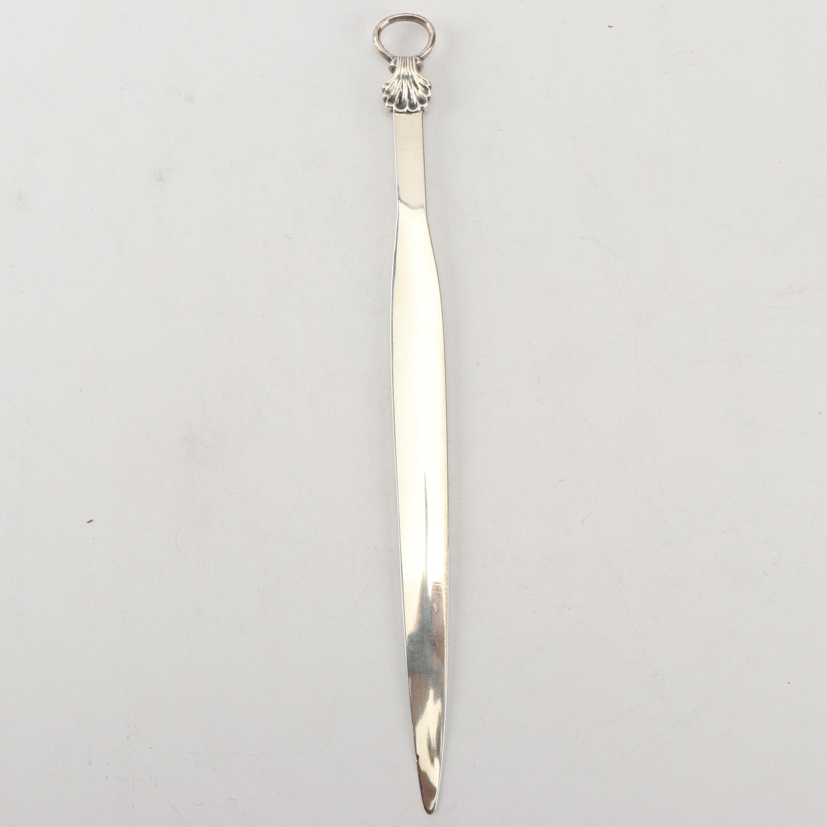 George III Silver Meat Skewer, Mark of William Sumner I, London 1793