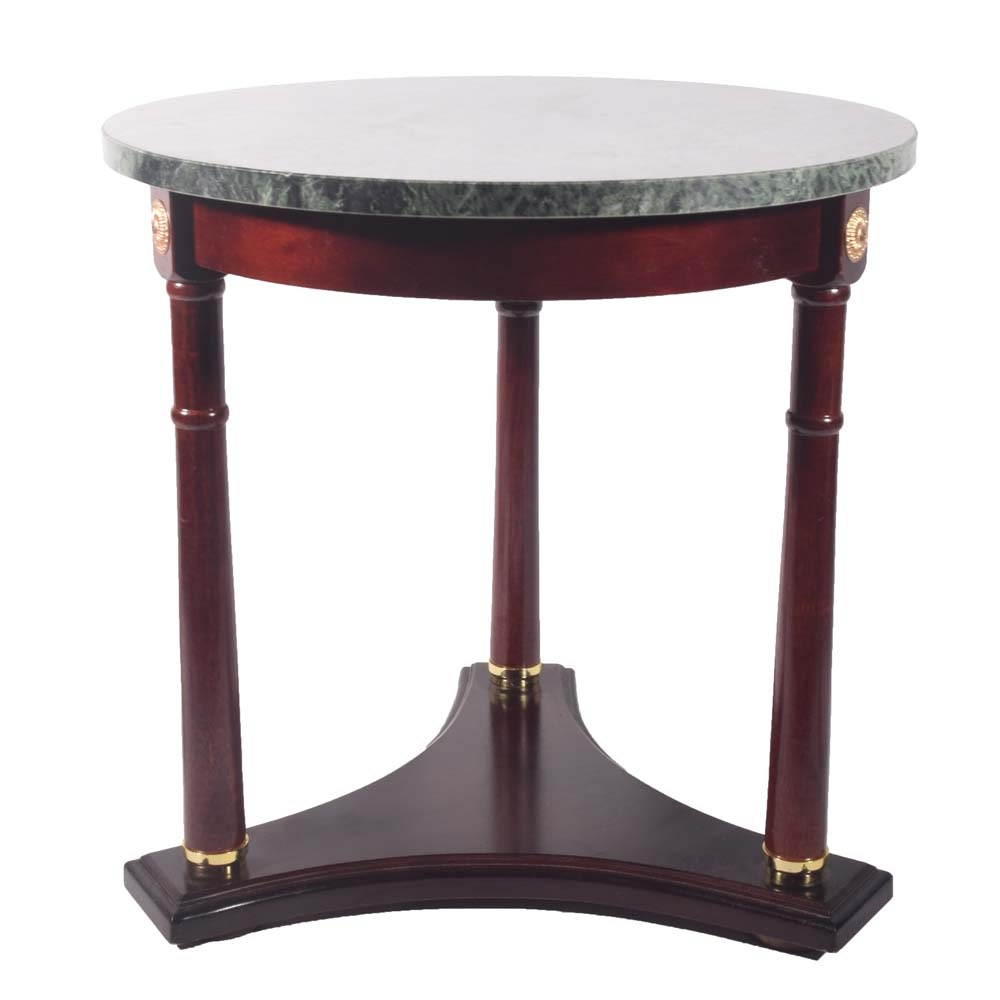French Empire Side Table, Late Twentieth Century