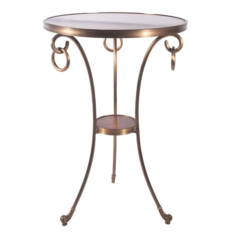 Regency Style Cigarette Table, Contemporary