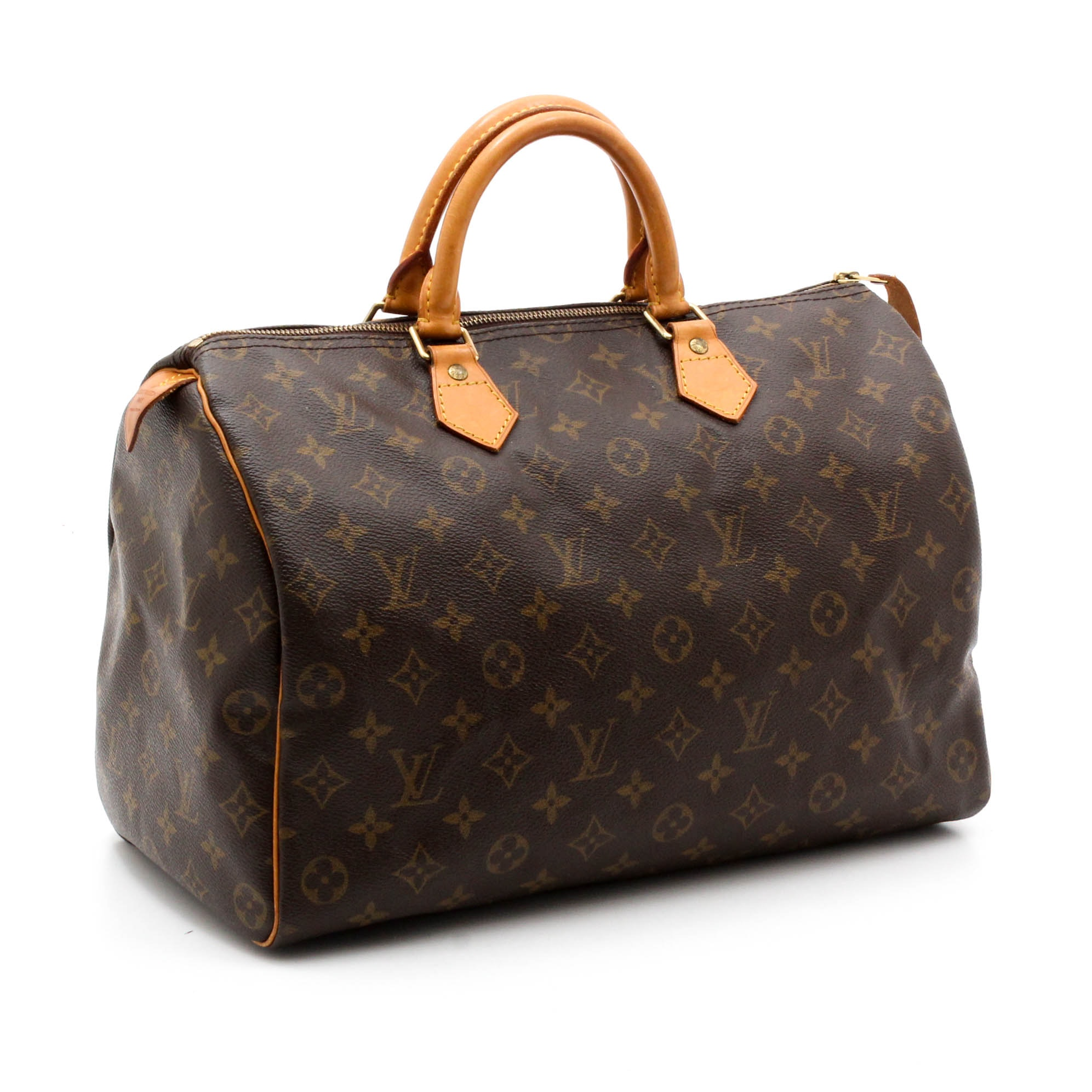 Louis Vuitton Monogram Canvas Speedy 40 Tote
