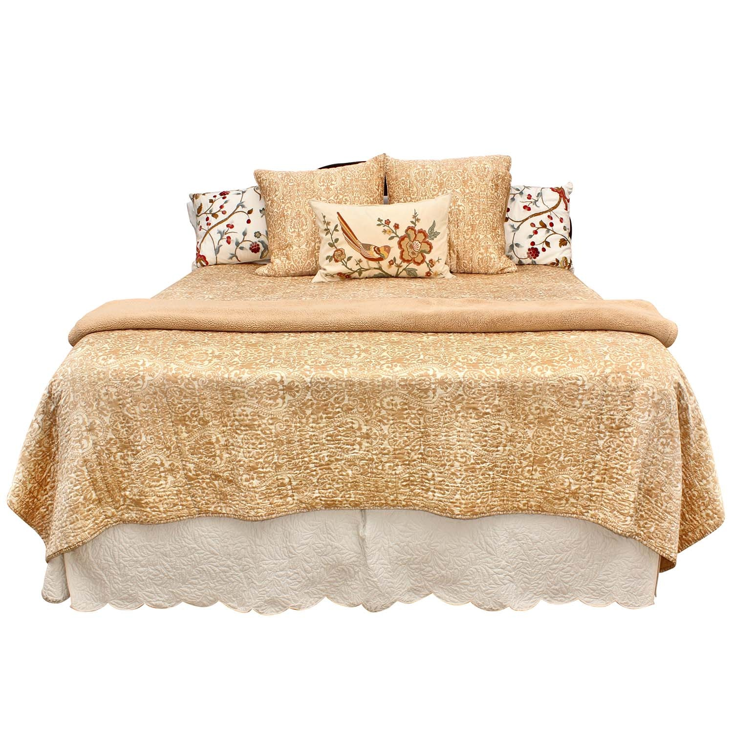 Pottery Barn Paisley And Floral King Size Bedding Set Ebth