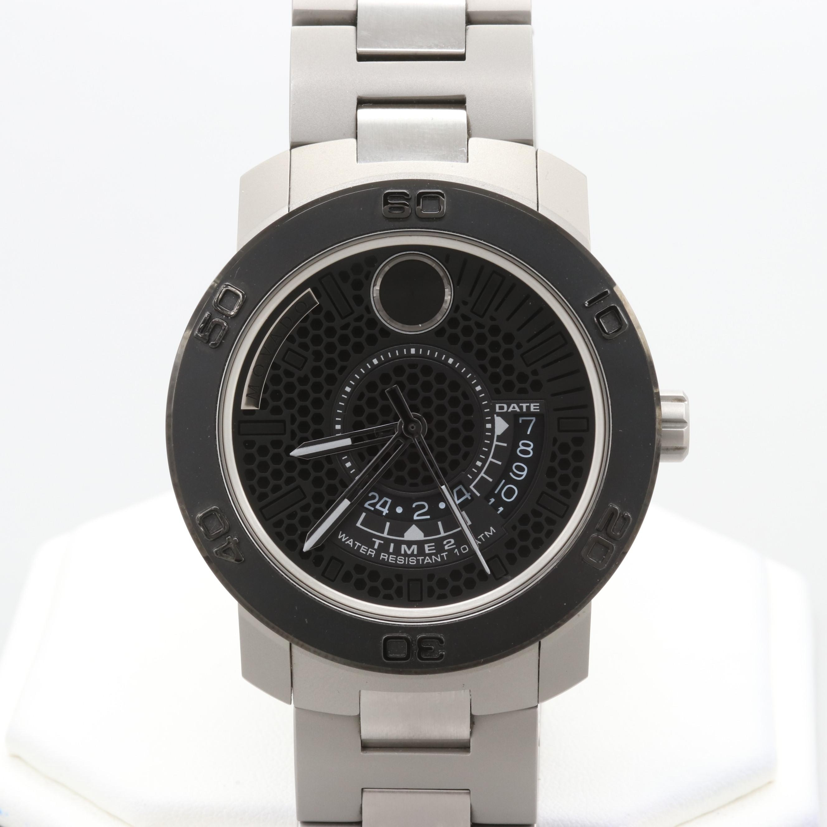 Movado Bold Stainless Steel Wristwatch