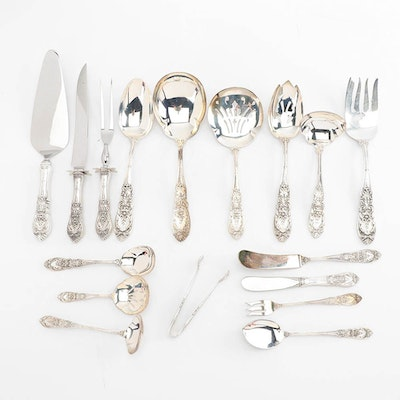 "International Silver Co. ""Richelieu"" Sterling Silver Serving Utensils"