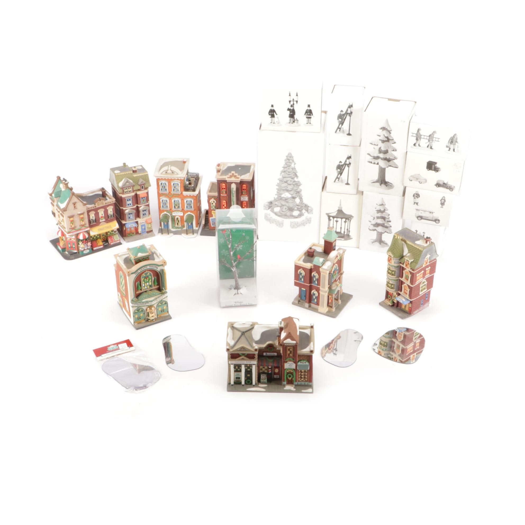 Department 56 Christmas Building and Accessories
