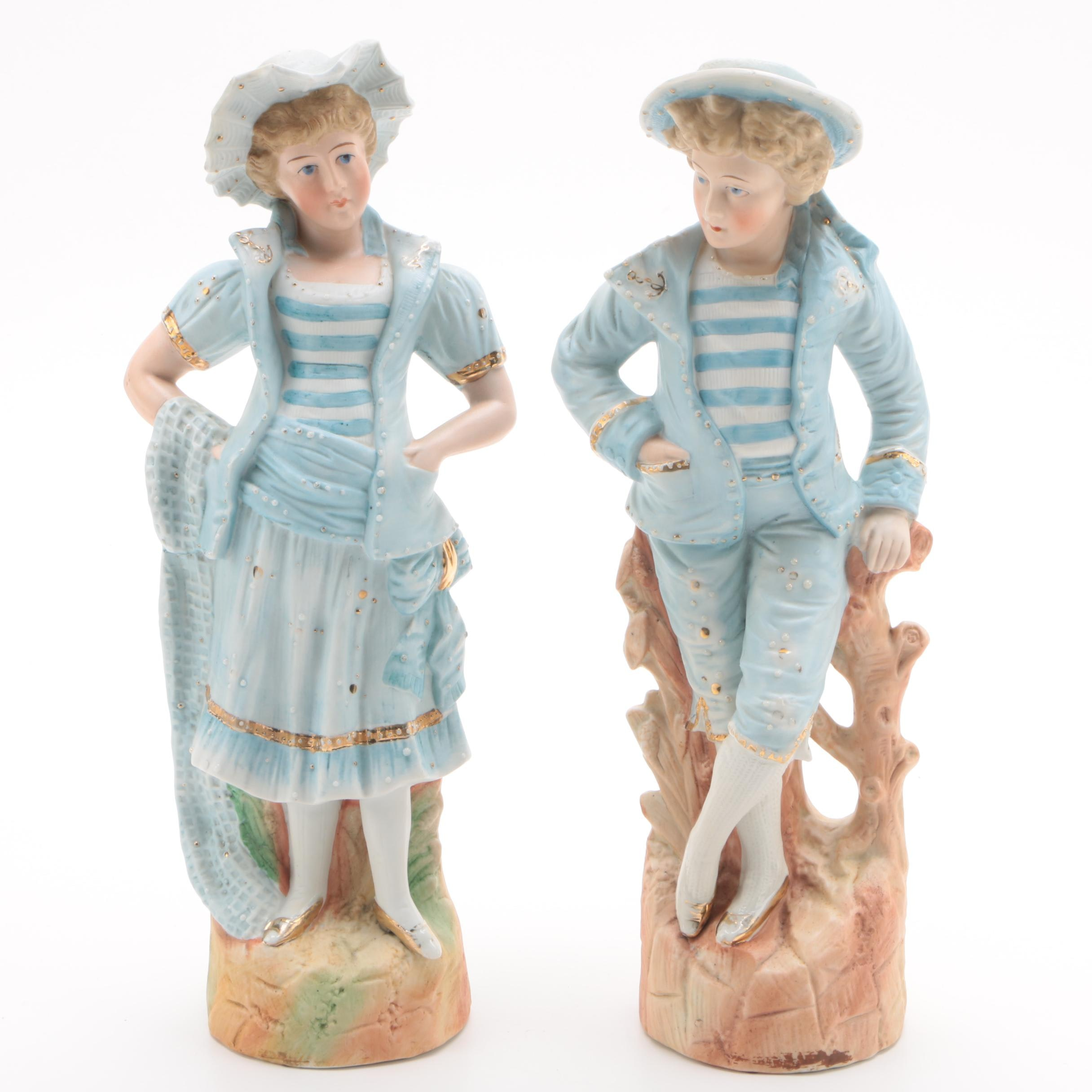 19th Century Style Porcelain Figurines