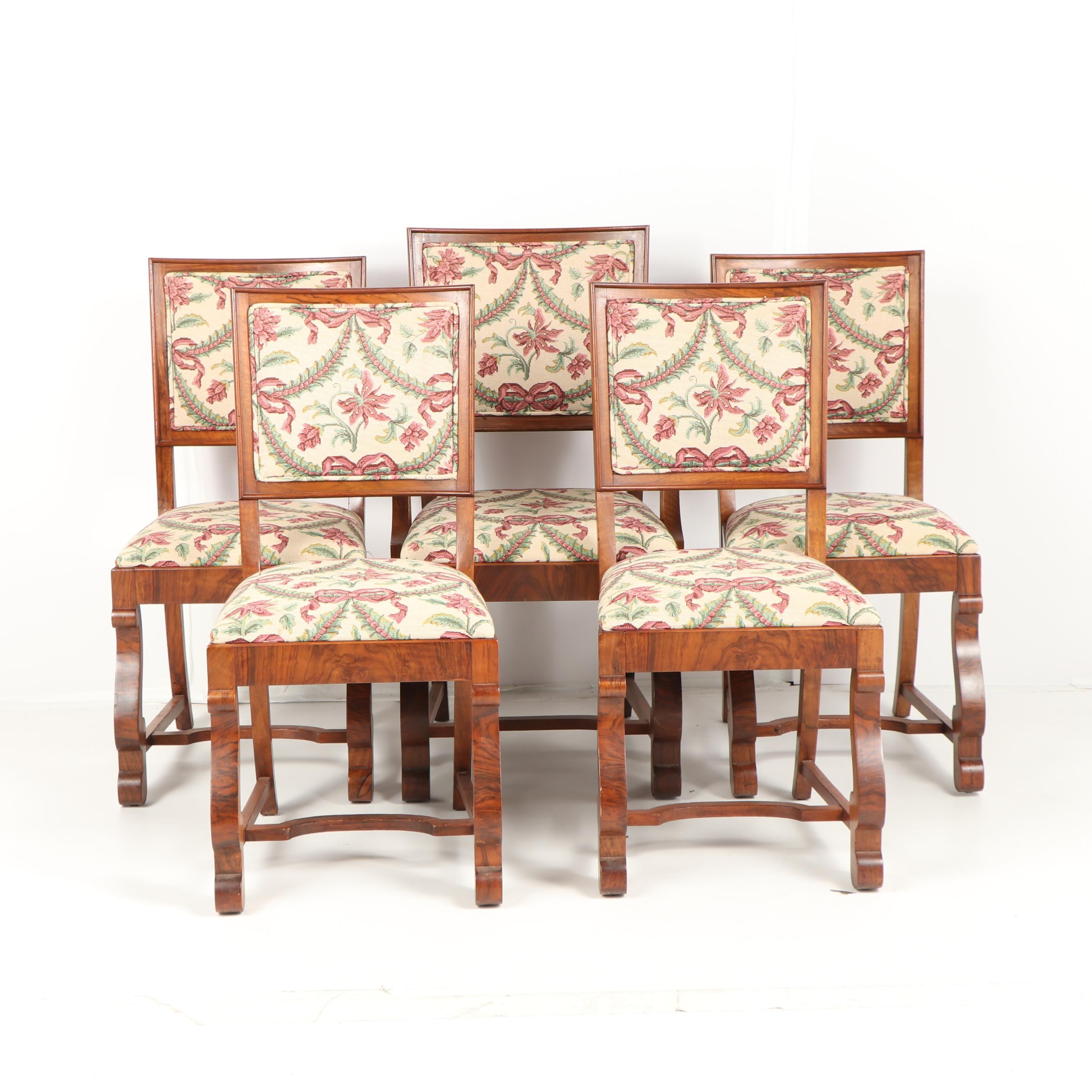 Empire Style Mahogany Dining Chairs