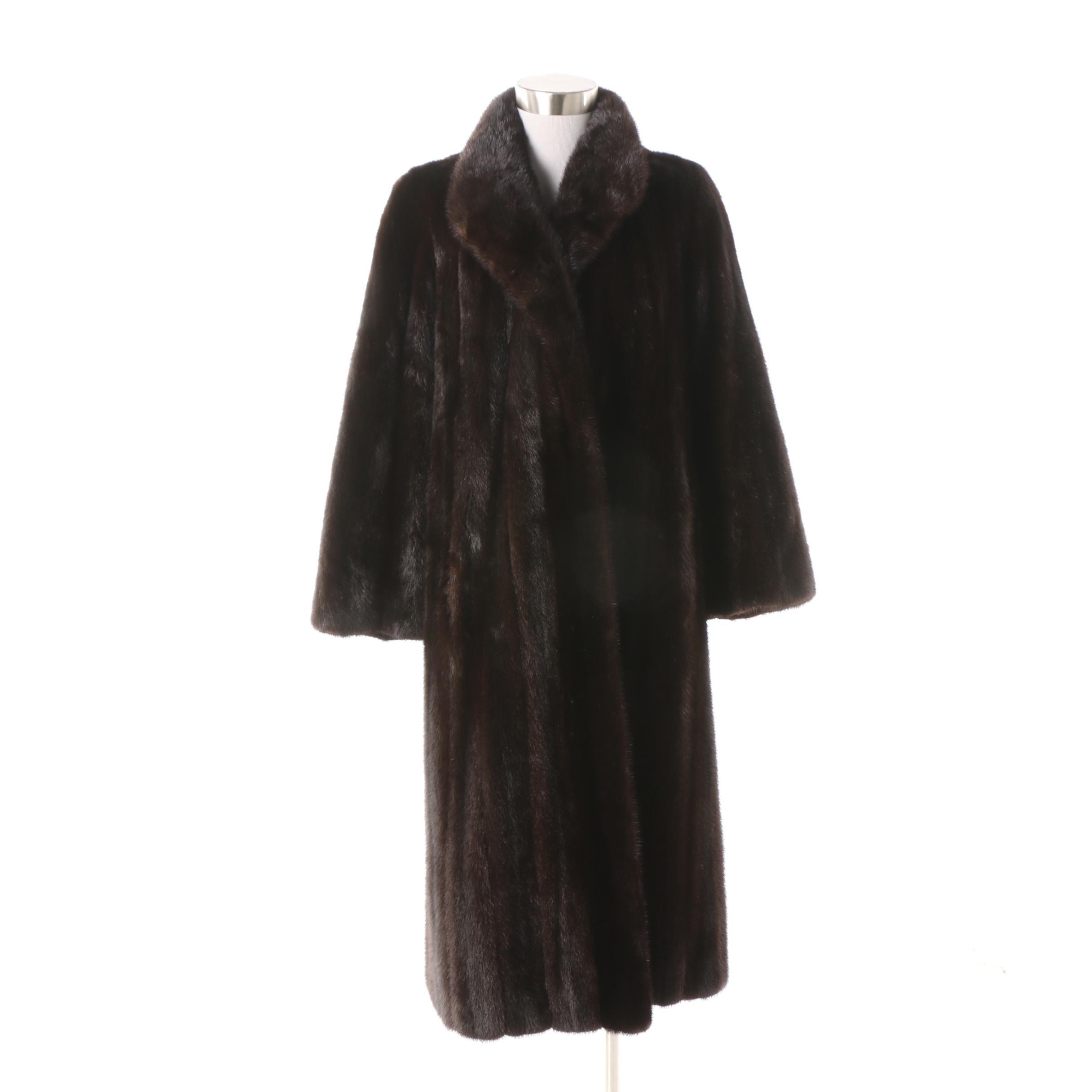 Tarlow Furs Ranch Mink Fur Coat