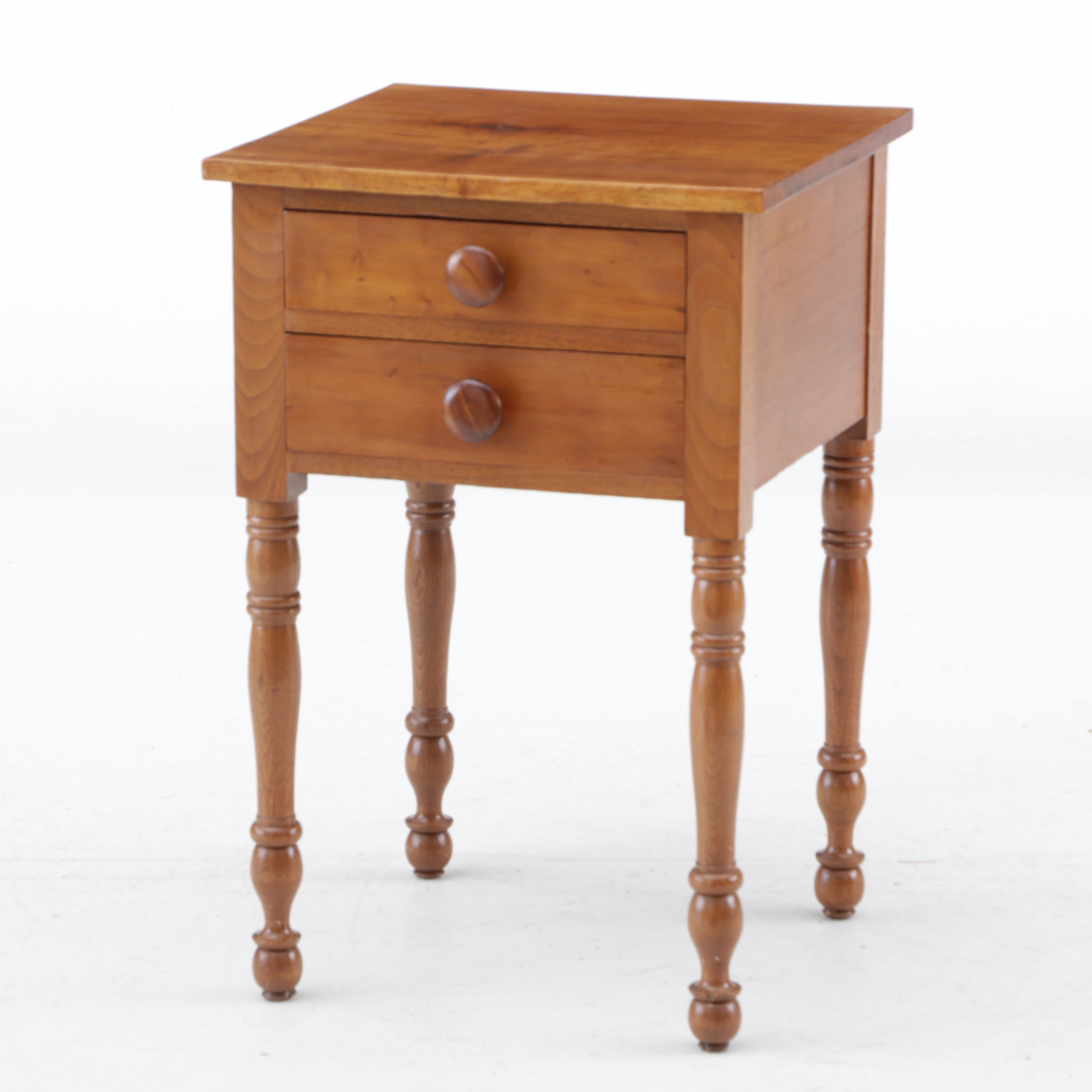 Federal Cherrywood Side Table, Early 19th Century