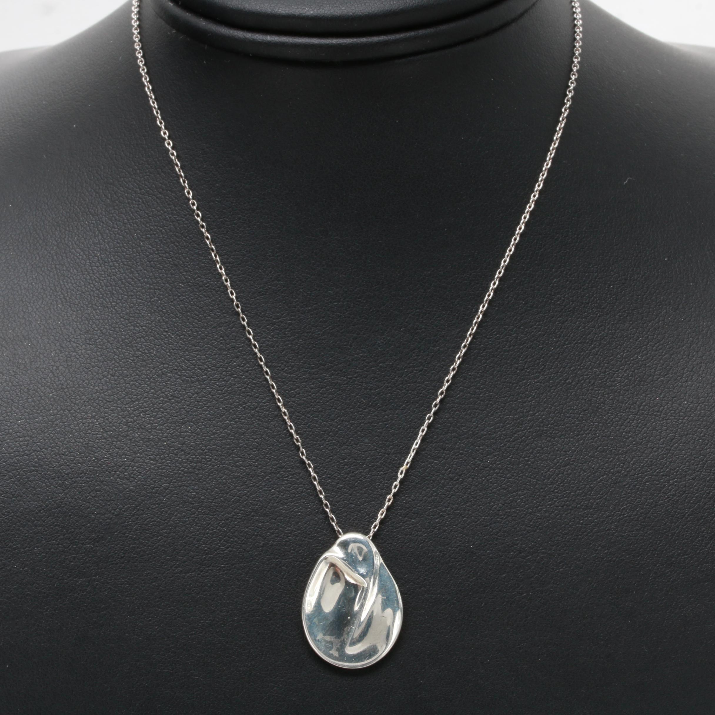 Elsa Peretti for Tiffany & Co. Madonna Pendant Necklace