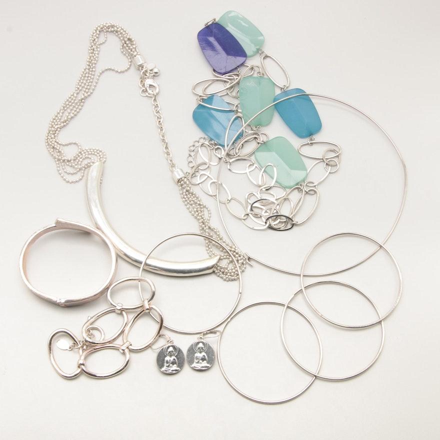 Assortment of Costume Plastic Jewelry