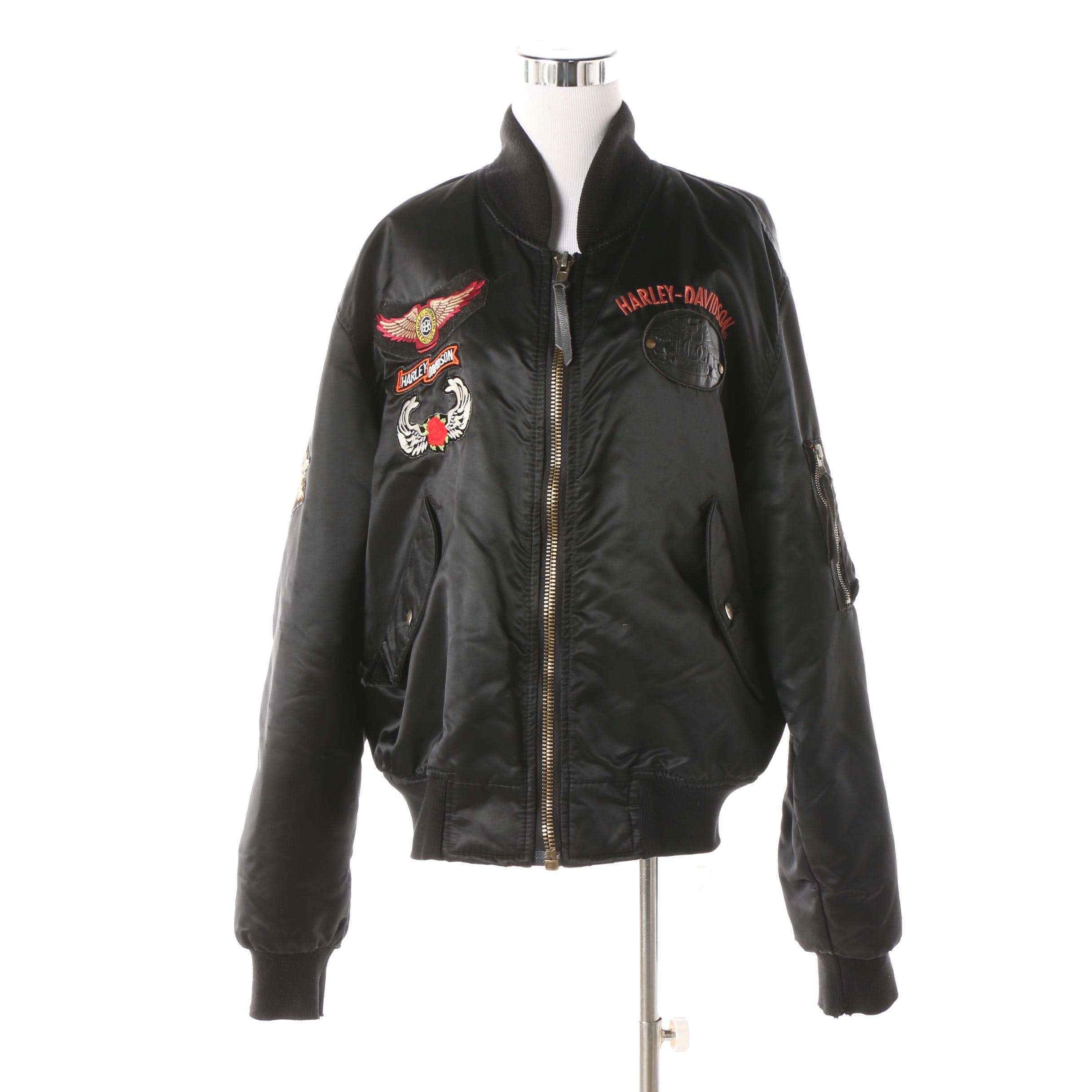 Men's Harley-Davidson Owners Group Nylon Bomber Jacket
