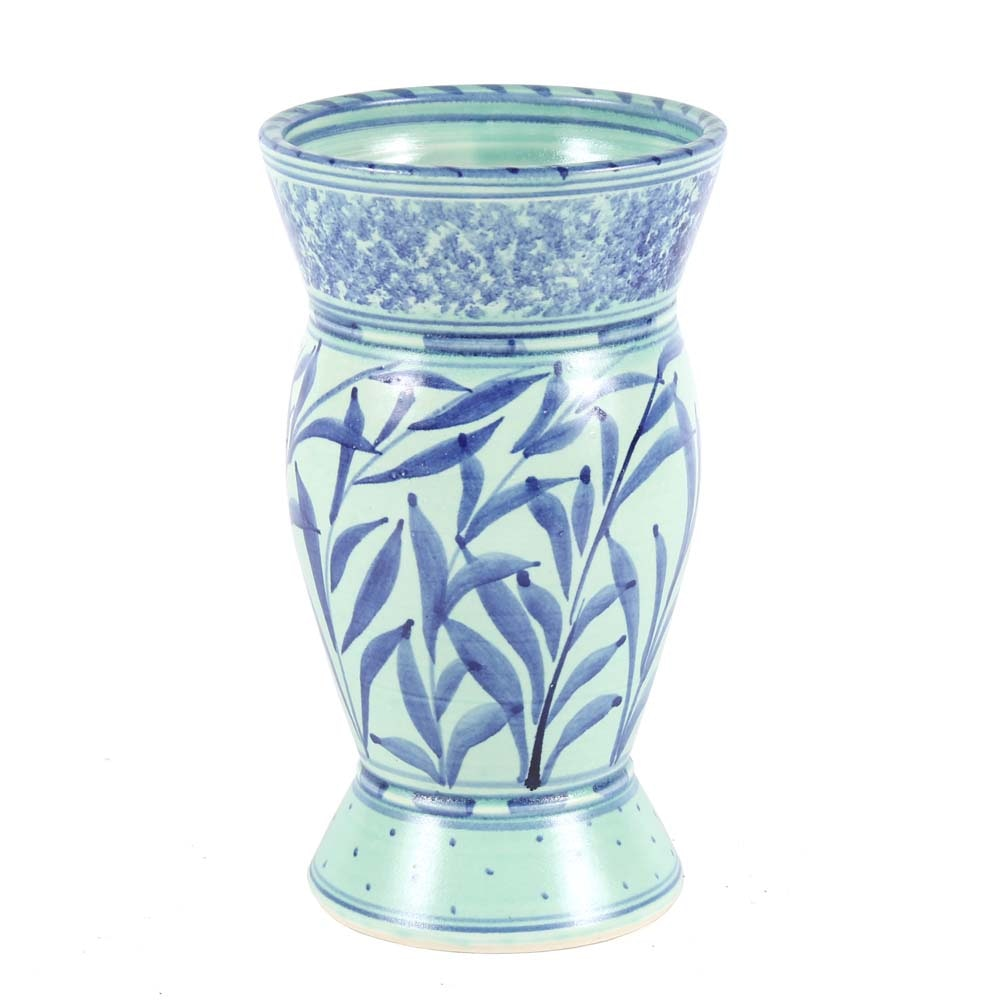 Liz Vigoda Wheel Thrown Stoneware Vase