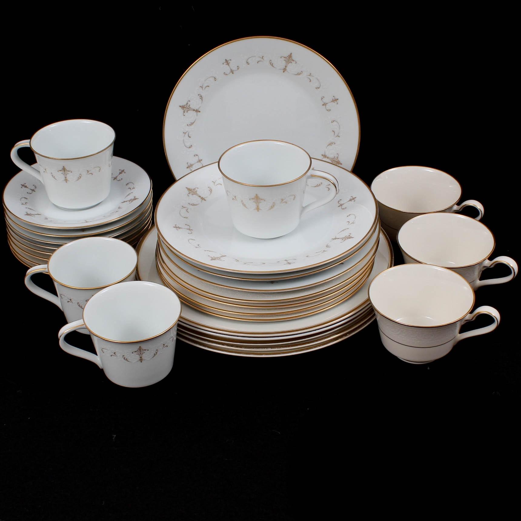 "Vintage Noritake Porcelain Tableware ""Courtney"""