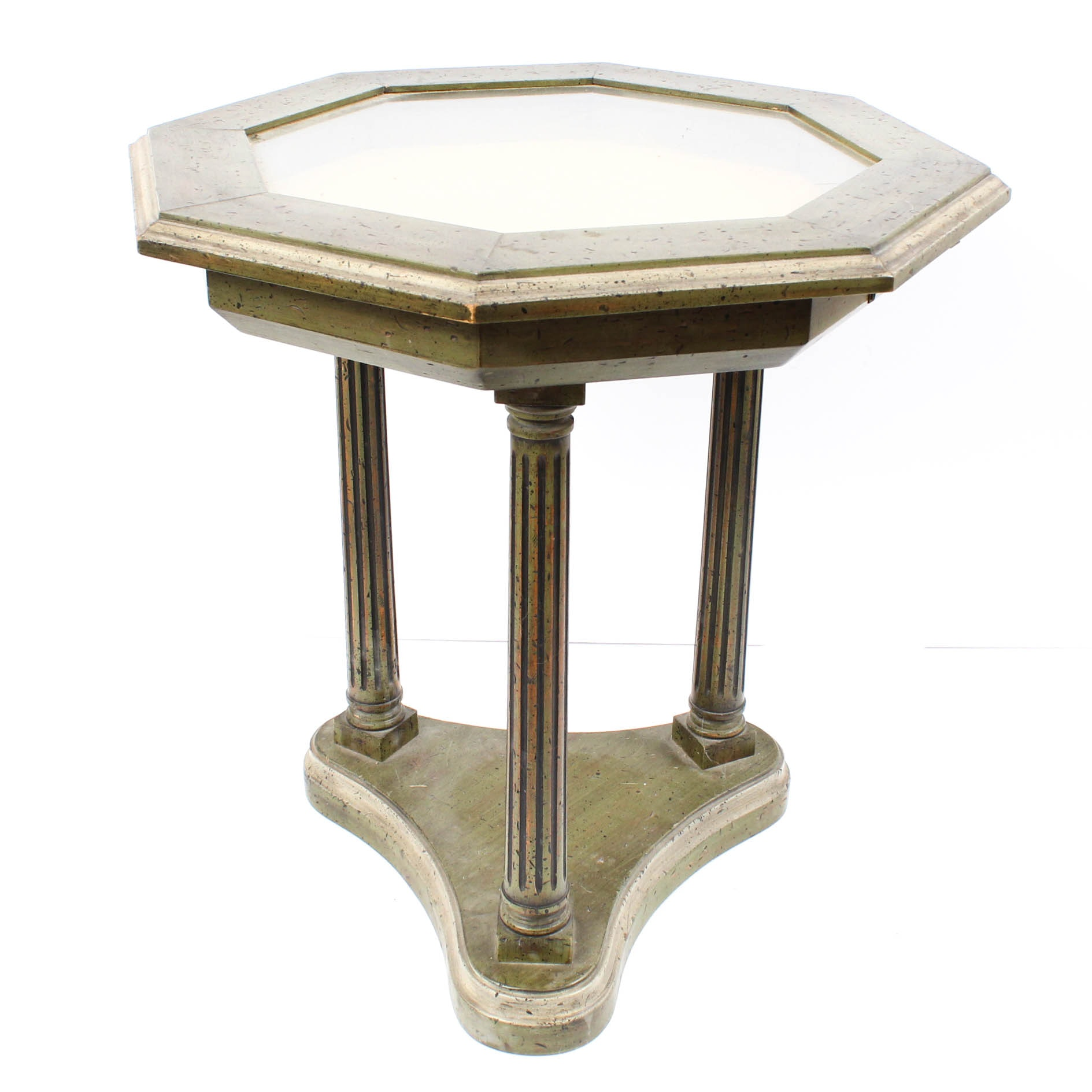 Octagonal Neoclassical Display Table