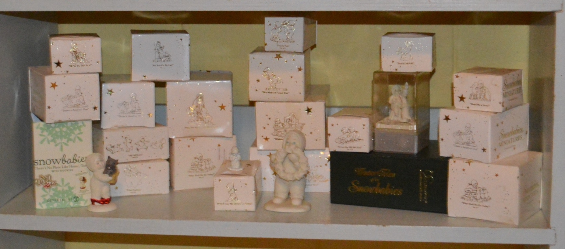 Miniature Snowbabies