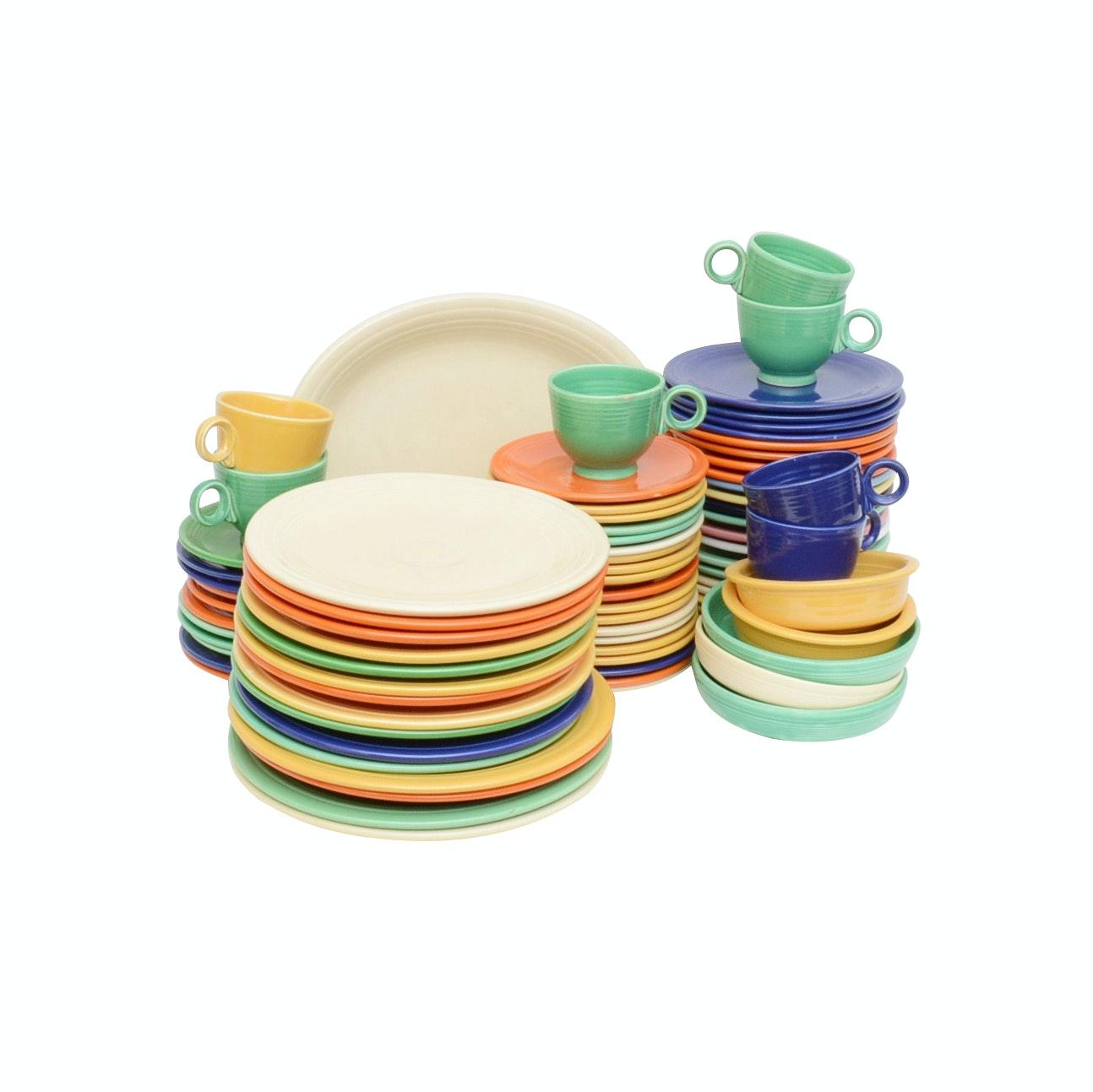 "Homer Laughlin ""Fiestaware"" Dinnerware"
