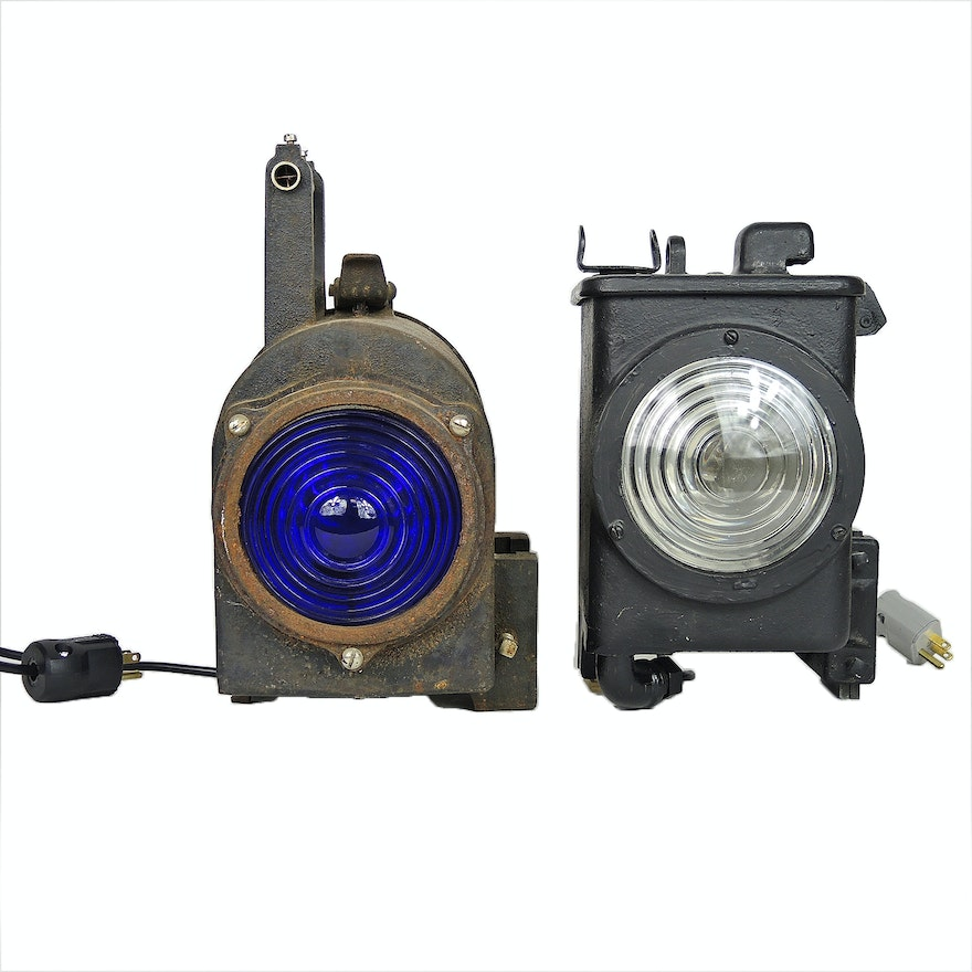 Union Switch and Signal and Western Railroad Supply Co. Lamps