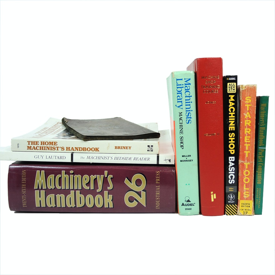 Machinist Shop Books and Catalogs