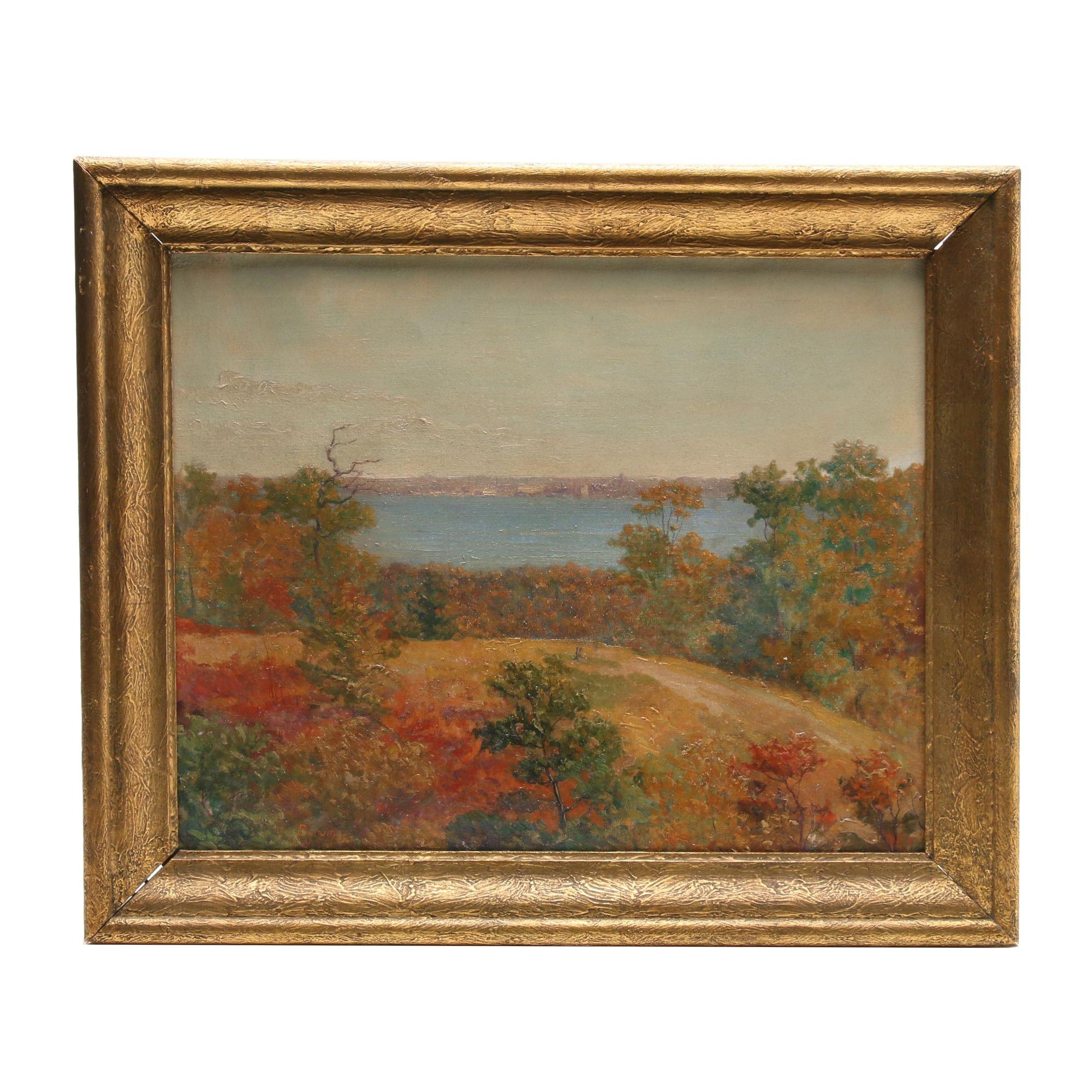 Ruthven Byrum Landscape Oil Painting