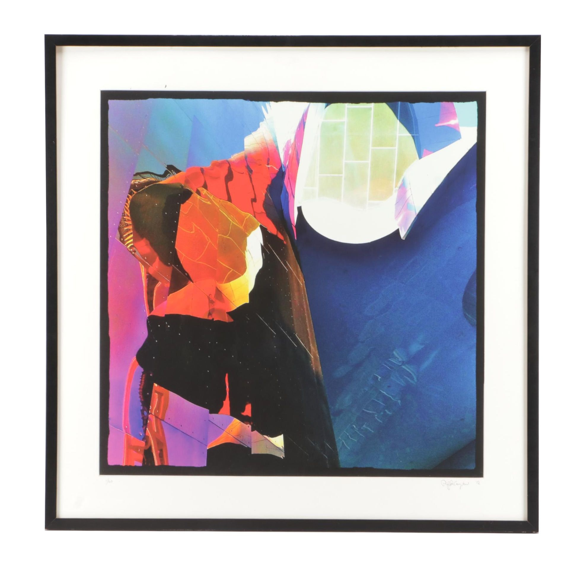 Philip R. Compton 2012 Limited Edition Abstract Giclée