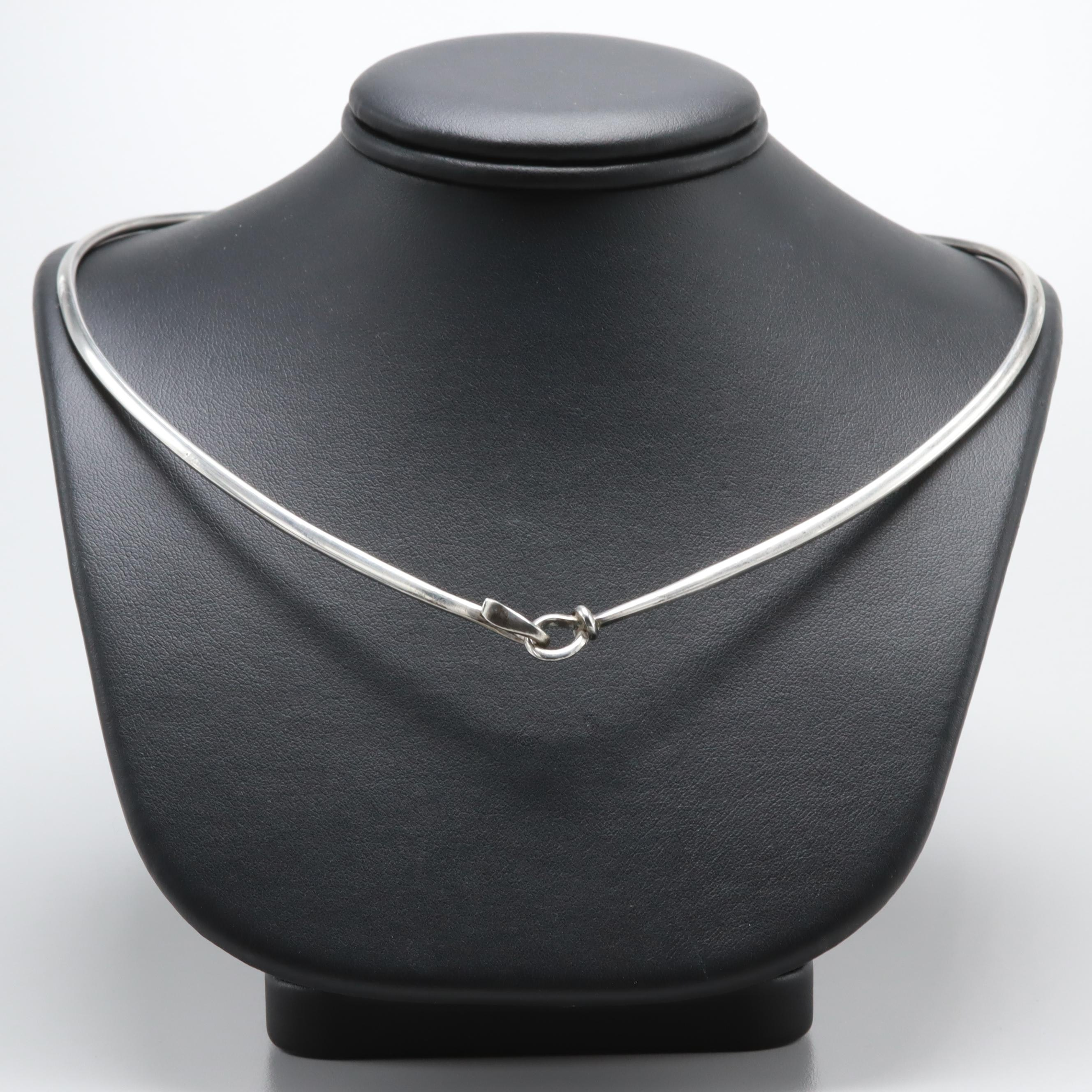 Vivianna Torun for Georg Jensen Sterling Silver Necklace