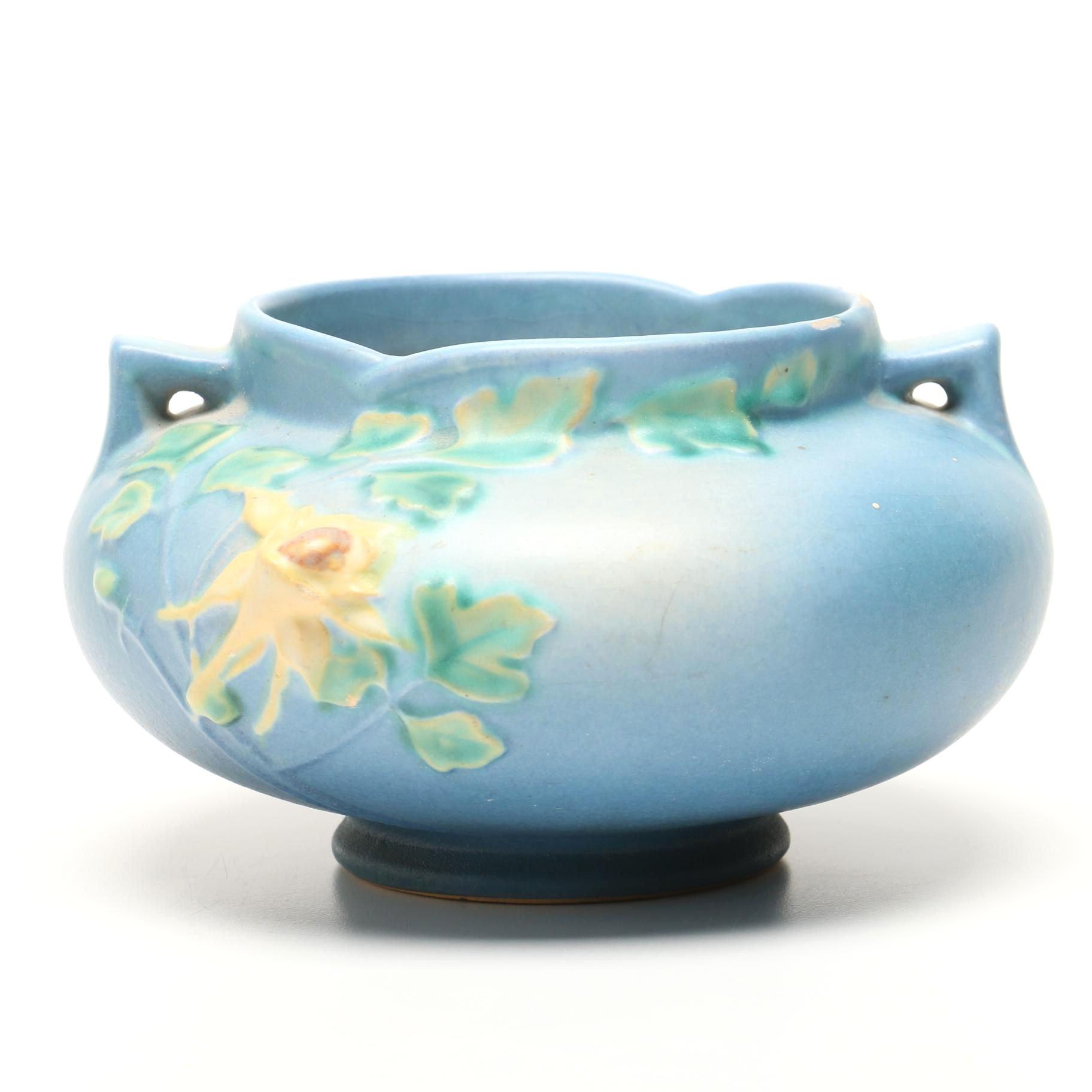 "Roseville Pottery ""Columbine"" Jardiniere"