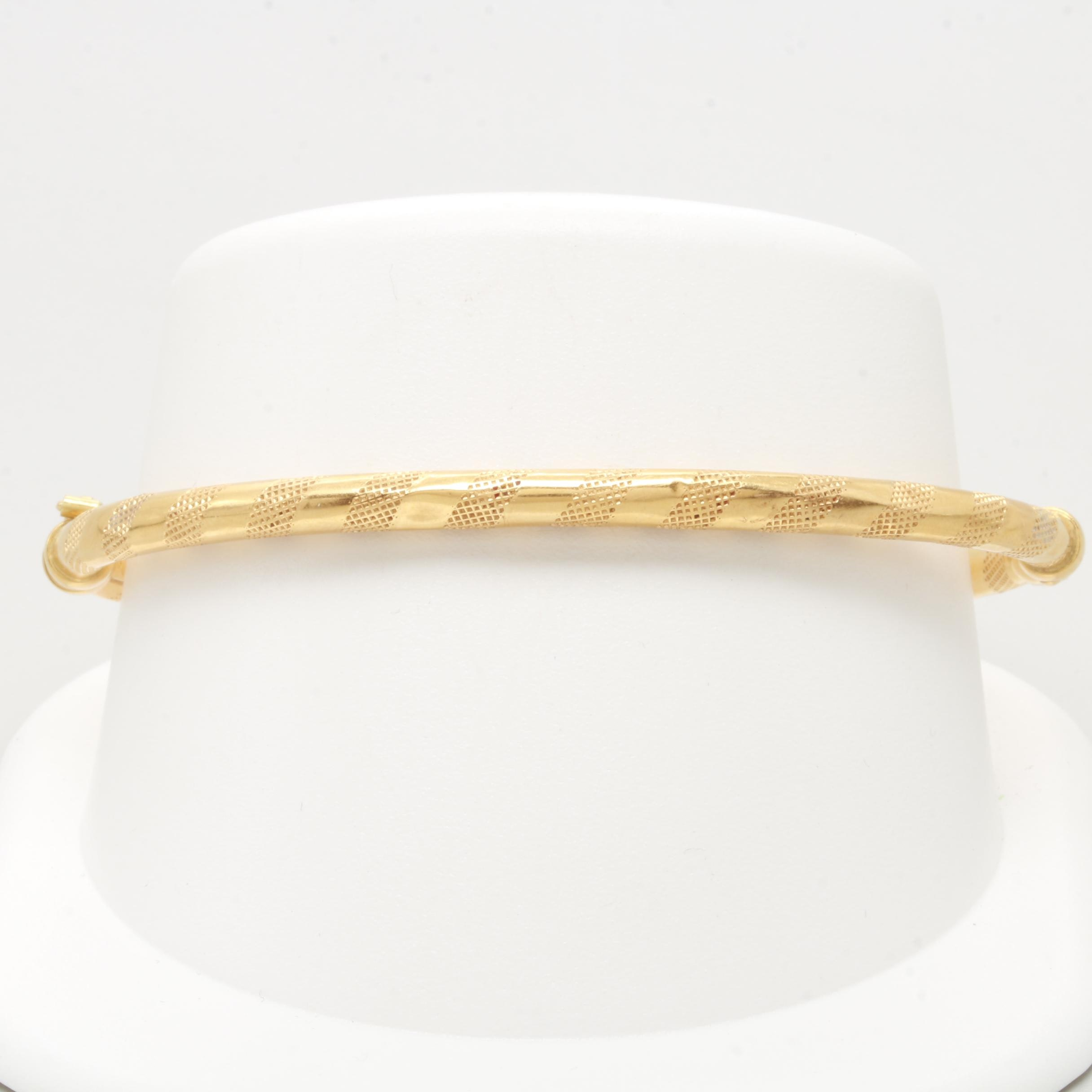 18K Yellow Gold  Uno a Erre Bracelet