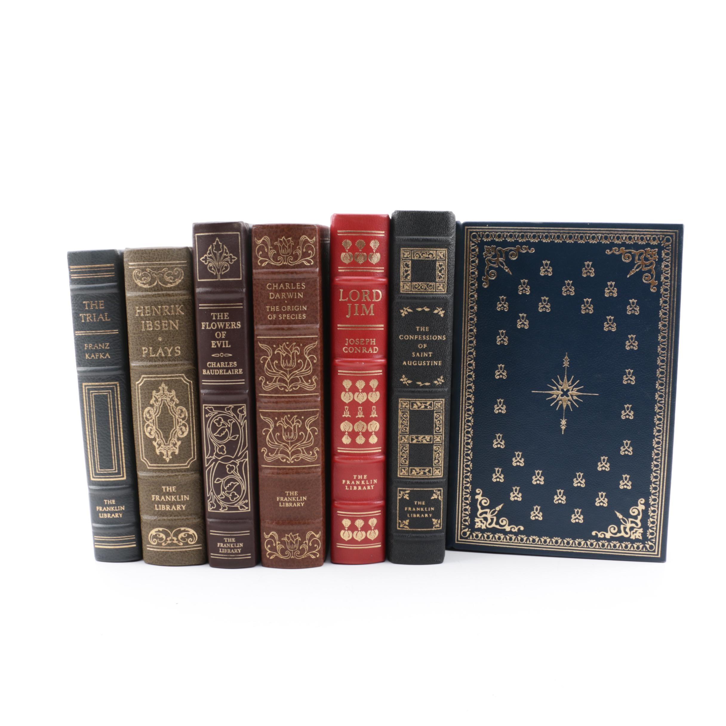 Franklin Library Editions including Robert Louis Stevenson
