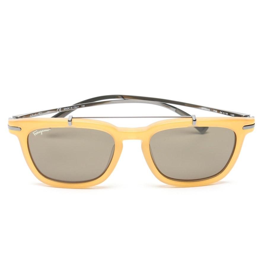 73817beb0c Salvatore Ferragamo Browline Sunglasses   EBTH