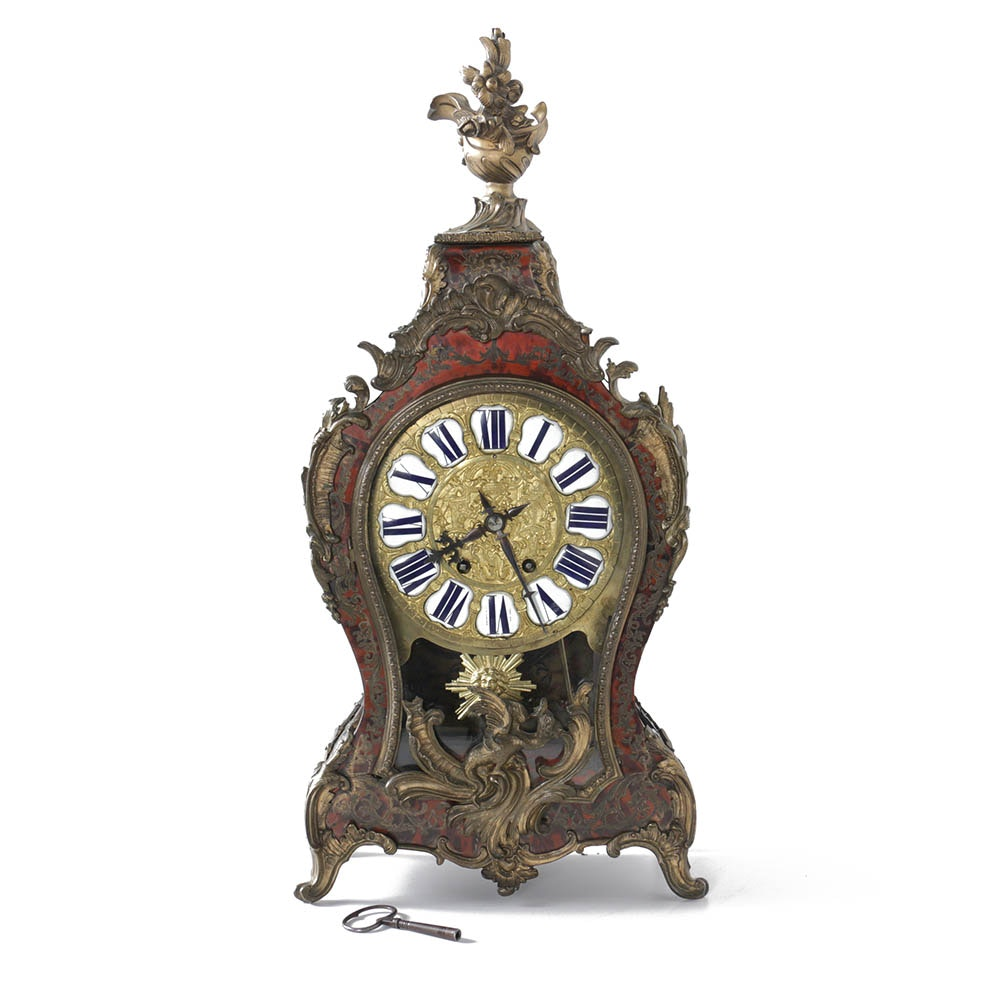 Tiffany Boulle Mantel Clock